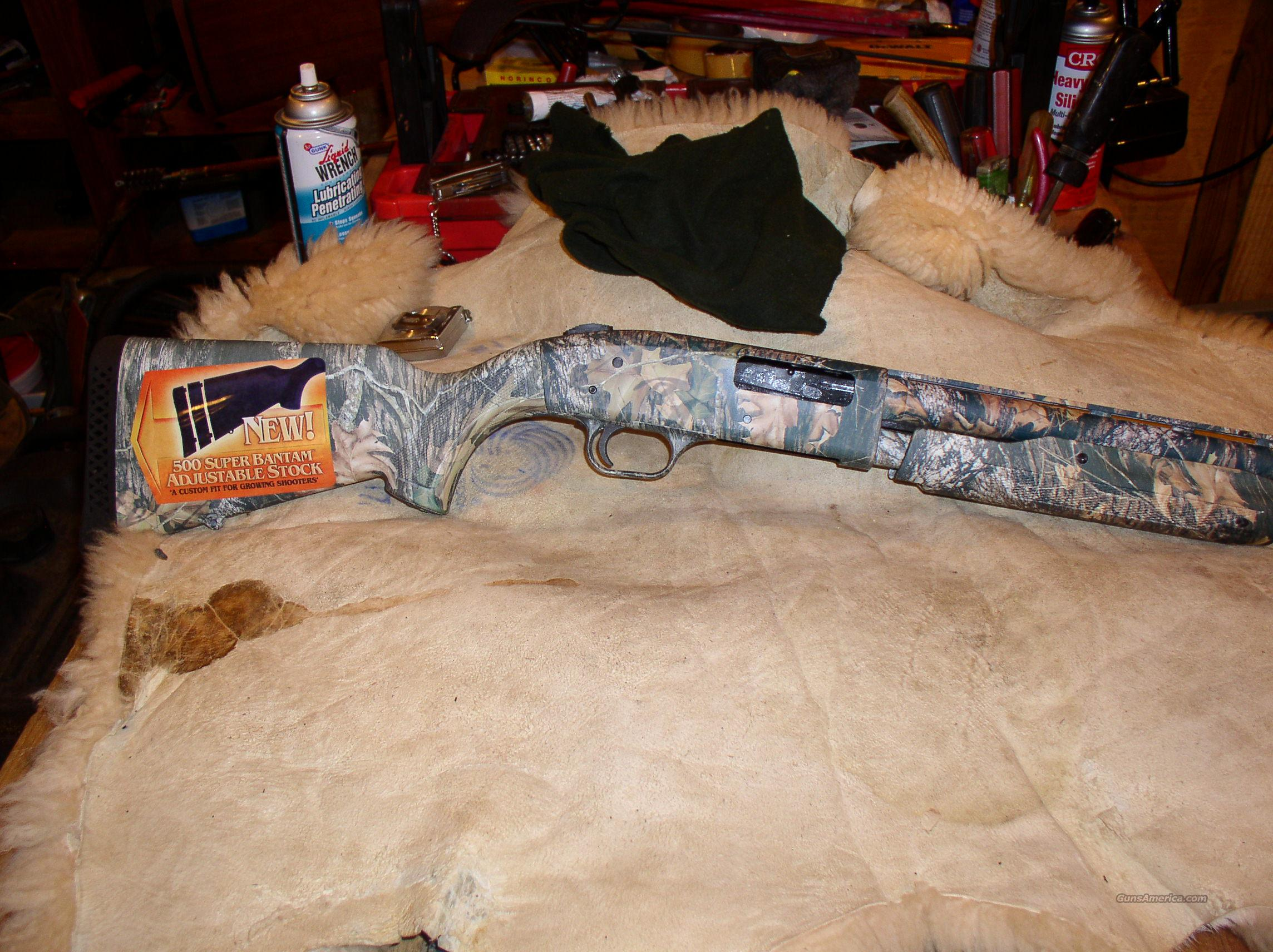 MOSSBERG  500 SUPER BANTAM    20 GAUGE   YOUTH  Guns > Shotguns > Mossberg Shotguns > Pump > Sporting