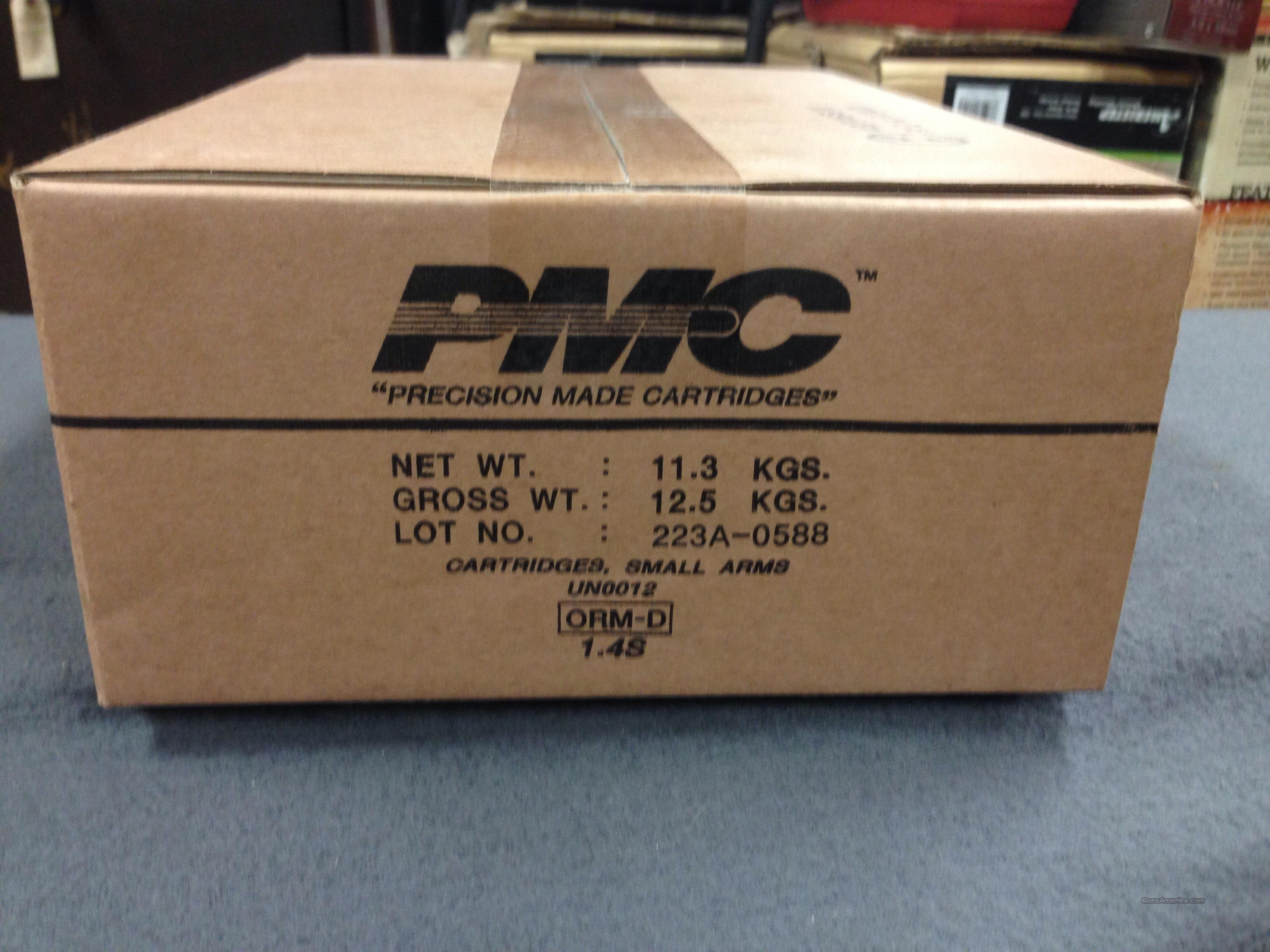 PMC  55 GRAIN      BRASS CASE  223   Non-Guns > Ammunition
