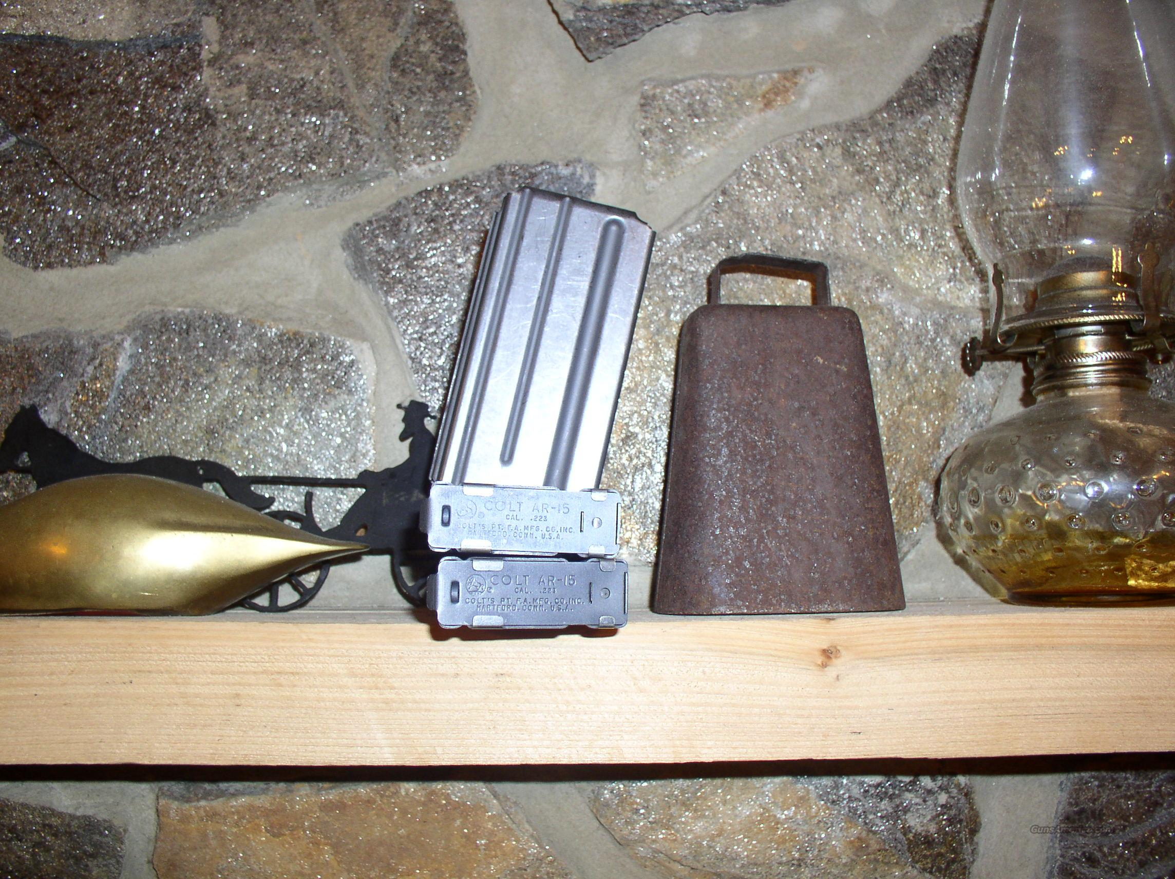 FACTORY COLT  MAGS   20 ROUND  Non-Guns > Magazines & Clips > Rifle Magazines > AR-15 Type