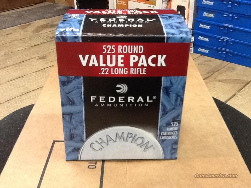 FEDERAL   22  AMMO     525  BULK PACK  Non-Guns > Ammunition