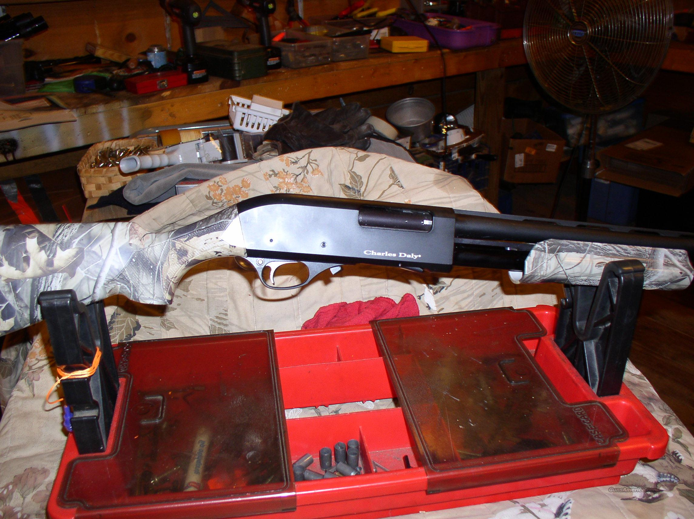 CHARLES DALY   20 GAUGE YOUTH PUMP  Guns > Shotguns > Charles Daly Shotguns > Auto