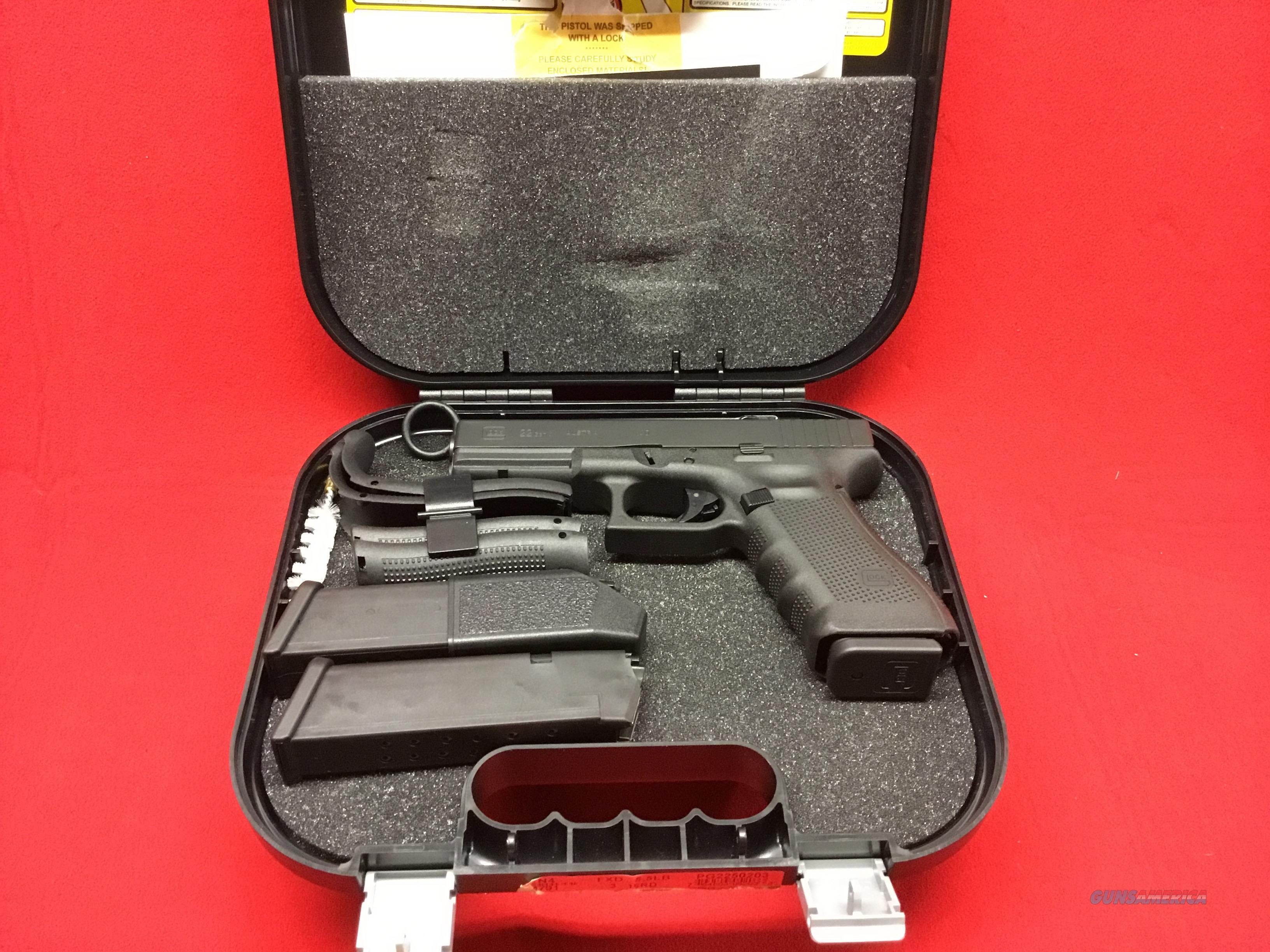GLOCK 22    GEN 4    NIB  Guns > Pistols > Glock Pistols > 17