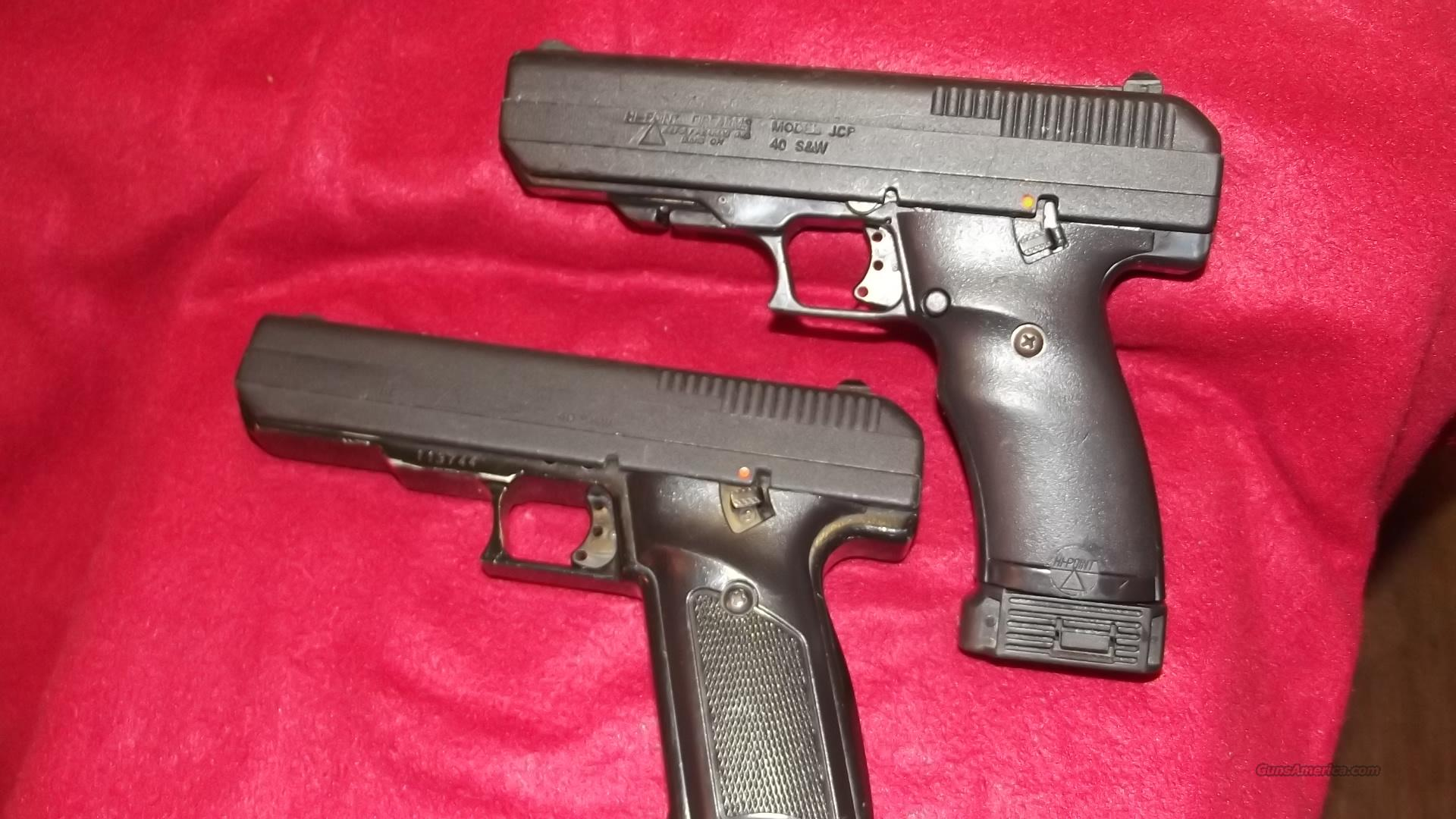 HI POINT  40 CALIBER  Guns > Pistols > Hi Point Pistols
