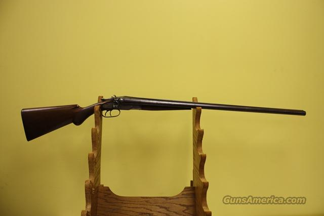 Baker Model D 1897 12 GA Damascus Antique  Guns > Shotguns > Baker Shotguns