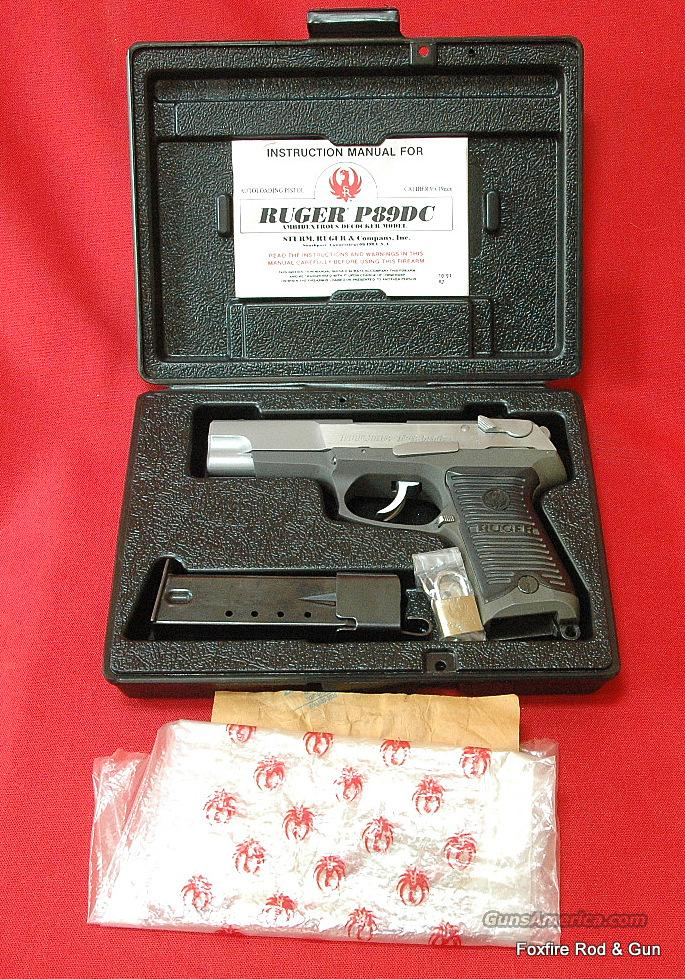 **PRICE REDUCED** Ruger P-89DC - LIKE NEW CONDITION  Guns > Pistols > Ruger Semi-Auto Pistols > P-Series