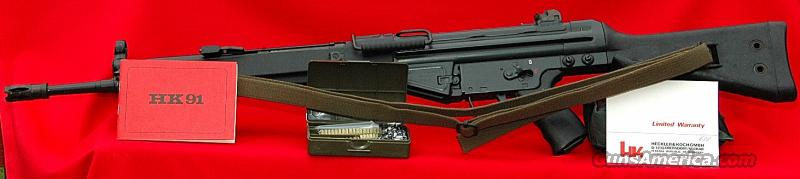 Heckler & Koch 91 A-2 Battle Rifle (IB Date Code – Manufactured 1981)  Guns > Rifles > Heckler & Koch Rifles > Tactical