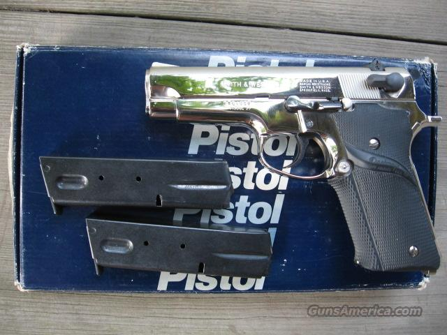 SMITH & WESSON Model 59 nickle-boxed  Guns > Pistols > Smith & Wesson Pistols - Autos > Alloy Frame