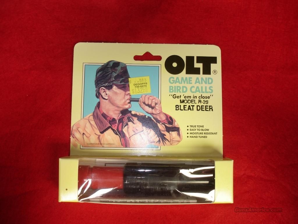 Calls P.S. Olt Bleat Deer Model R-25