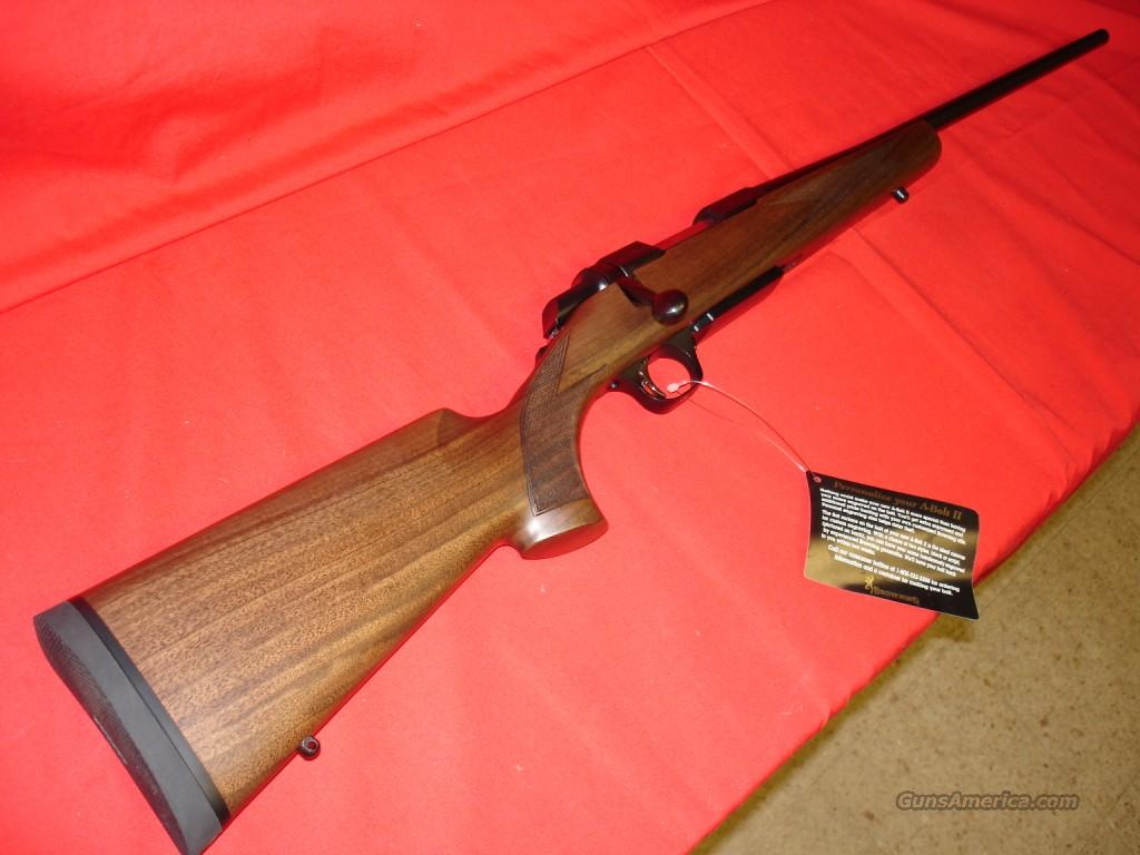 Browning ABolt 2 Hunter 223rm 21in  Guns > Rifles > Browning Rifles > Bolt Action > Hunting > Blue