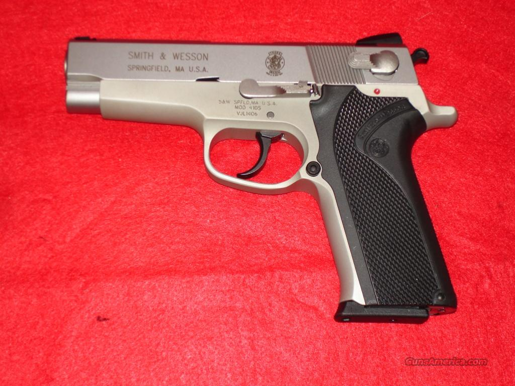 Smith & Wesson 410s 40sw 4in  Guns > Pistols > Smith & Wesson Pistols - Autos > Steel Frame