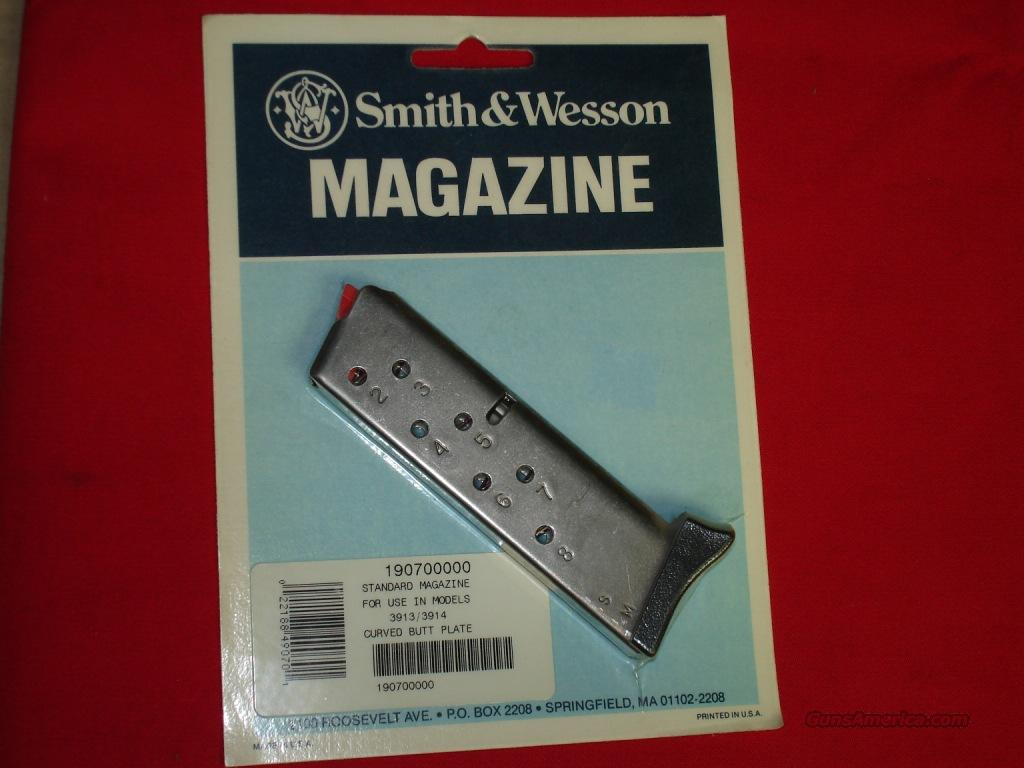 Magazine S&W 3913/3914 9mm 8rds  Non-Guns > Magazines & Clips > Pistol Magazines > Smith & Wesson
