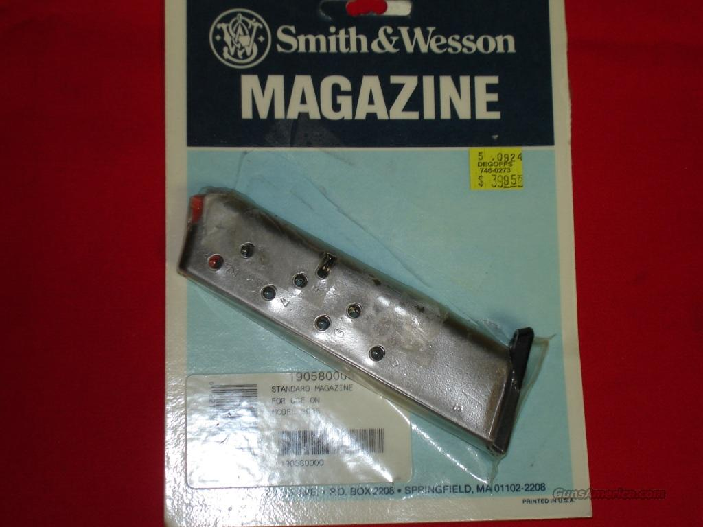 Magazine S&W 3906 9mm 8rds  Non-Guns > Magazines & Clips > Pistol Magazines > Smith & Wesson