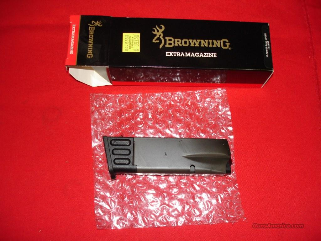 Magazine Browning HiPower 9mmLuger 10rd  Non-Guns > Magazines & Clips > Pistol Magazines > Other