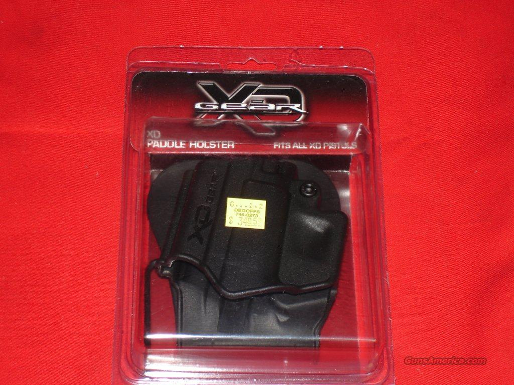 Holster Springfield Paddle XD   Non-Guns > Holsters and Gunleather > Large Frame Auto