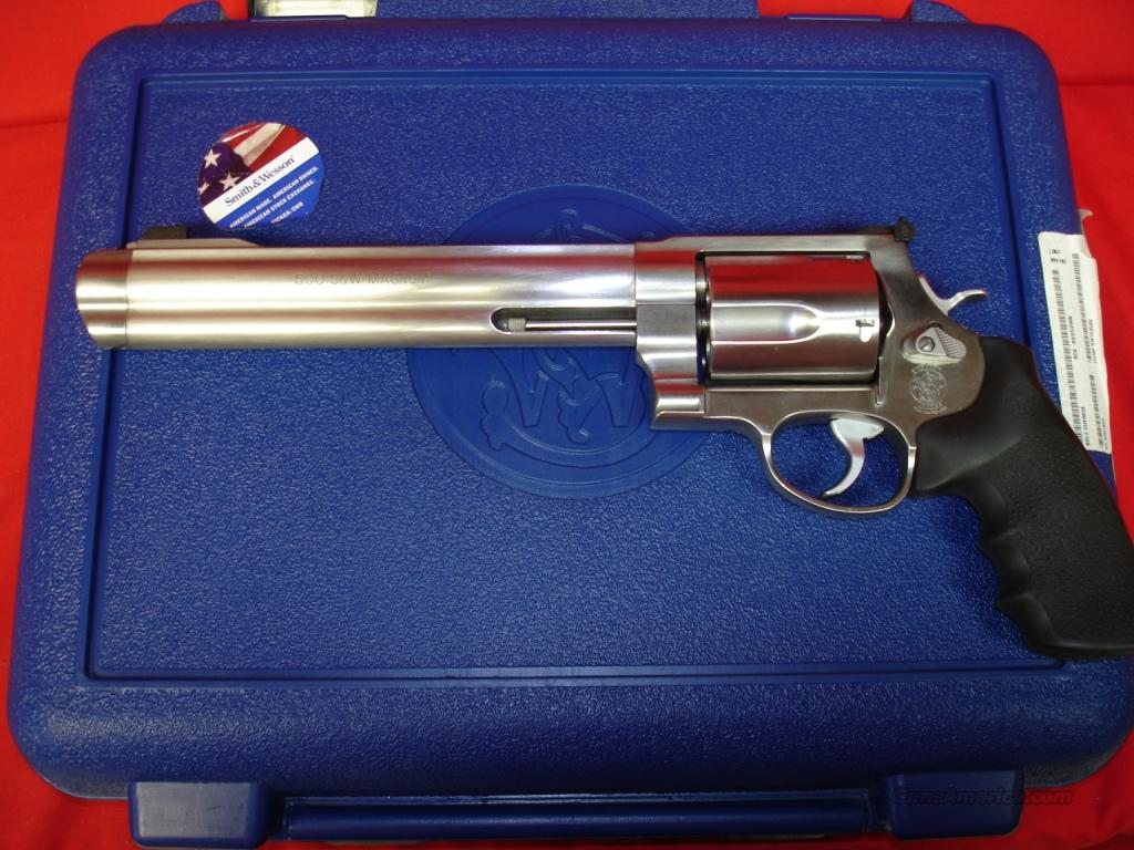 Smtih & Wesson 500 500sm 8.37in  Guns > Pistols > Smith & Wesson Revolvers > Full Frame Revolver