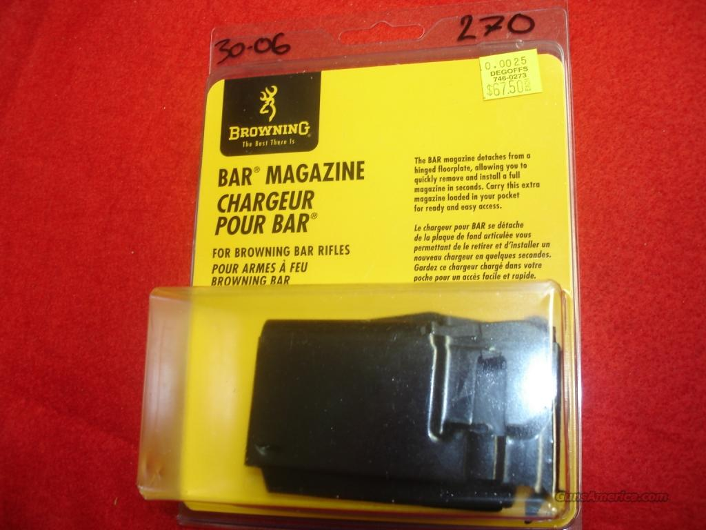 Magazine Browning BAR 270wn/25-06rem/30-06spg. 112-025024  Non-Guns > Magazines & Clips > Rifle Magazines > Other