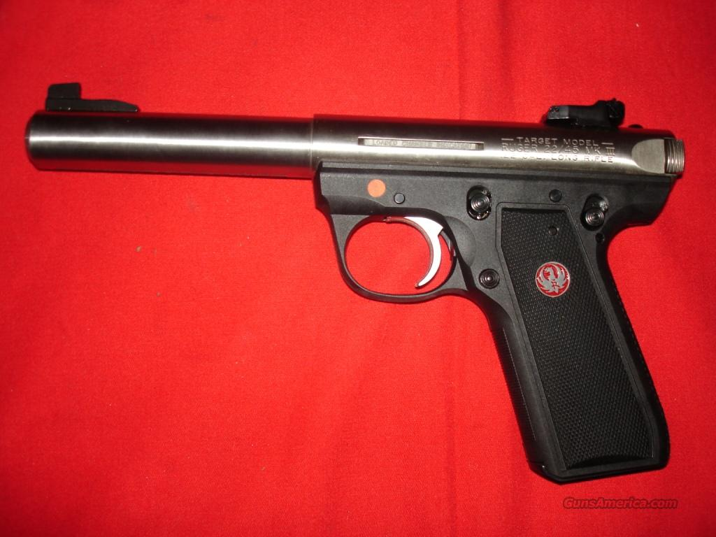 Ruger Mk 3 22/45 in 22lr 5.5in  Guns > Pistols > Ruger Semi-Auto Pistols > Mark I & II Family