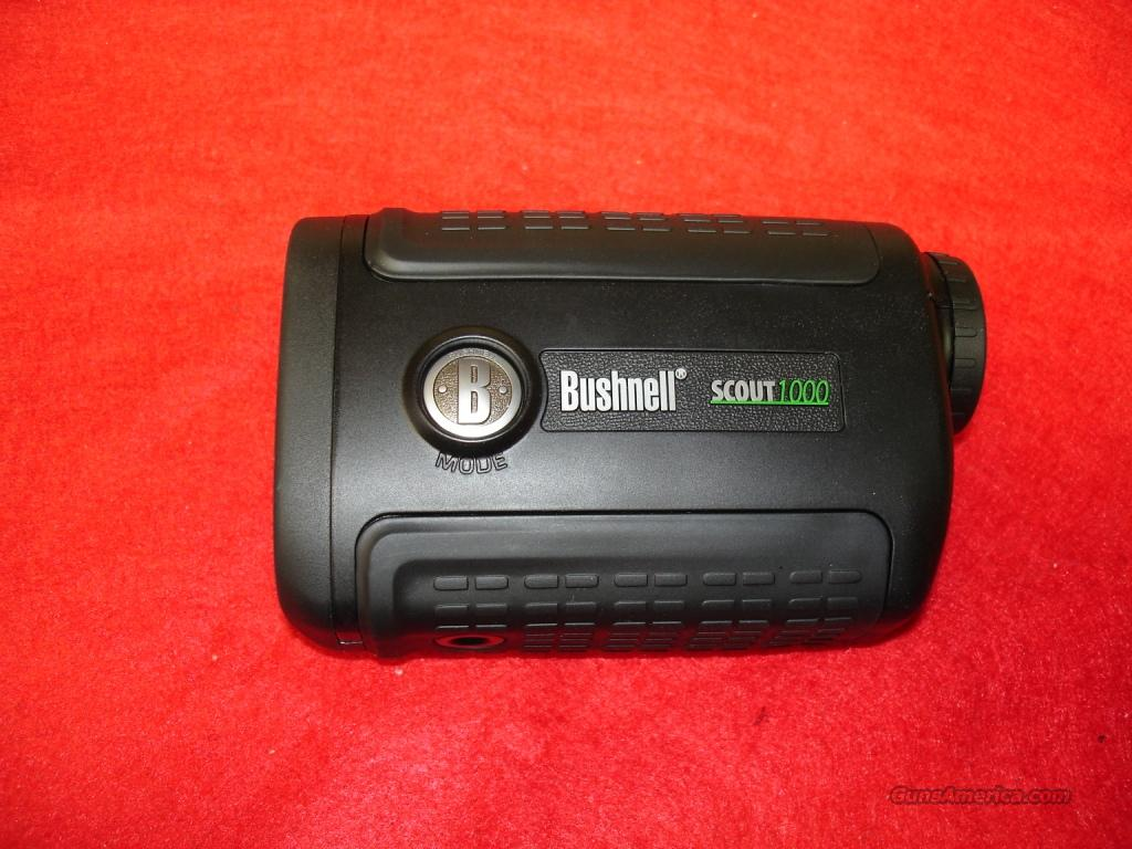 Rangefinder Bushnell Scout 1000 ARC 5x24  Non-Guns > Scopes/Mounts/Rings & Optics > Non-Scope Optics > Rangefinders