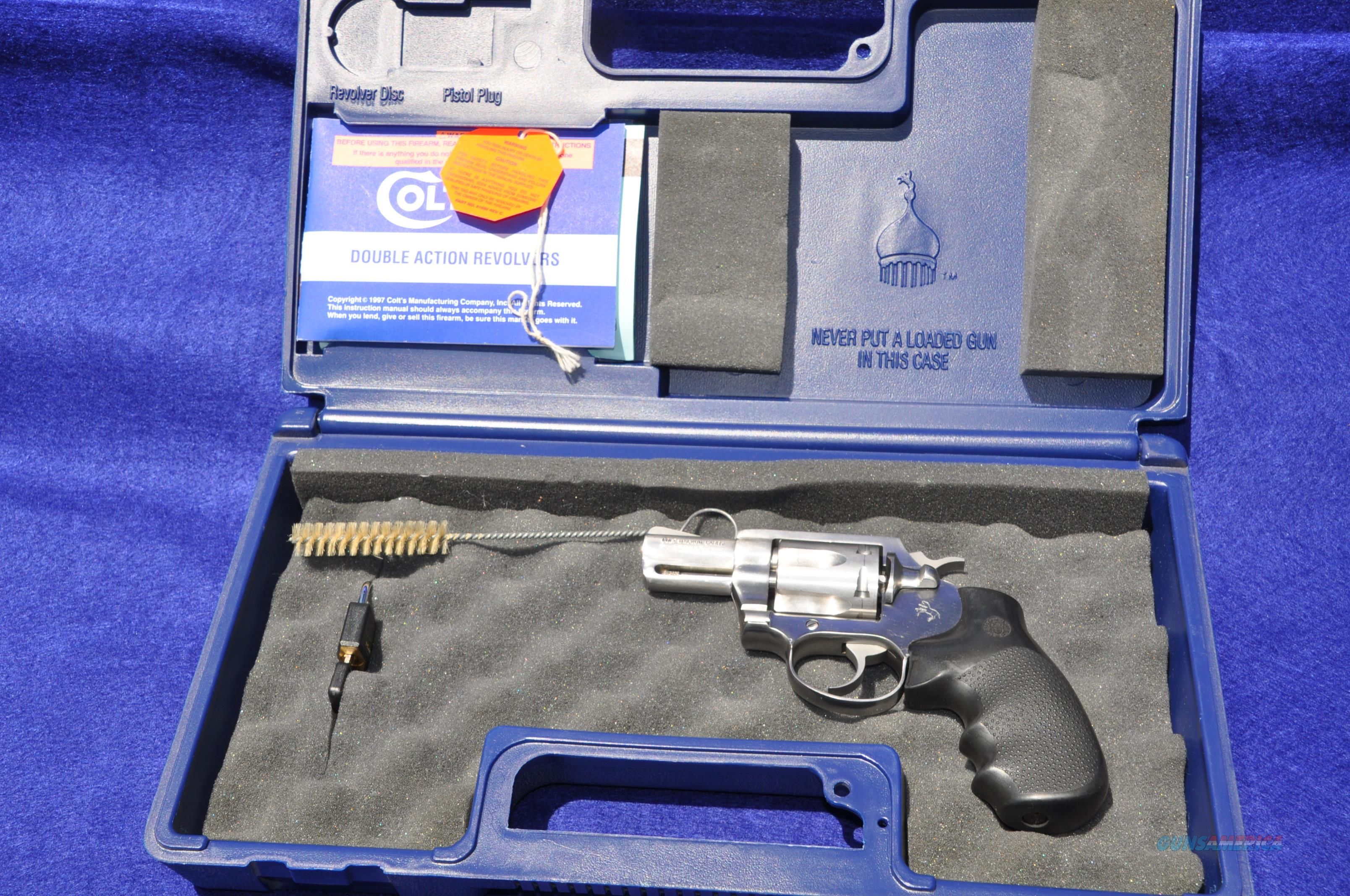 "COLT MAGNUM CARRY  2"" STAINLESS .357 mag 6 shot REVOLVER SD2020  Guns > Pistols > Colt Double Action Revolvers- Modern"
