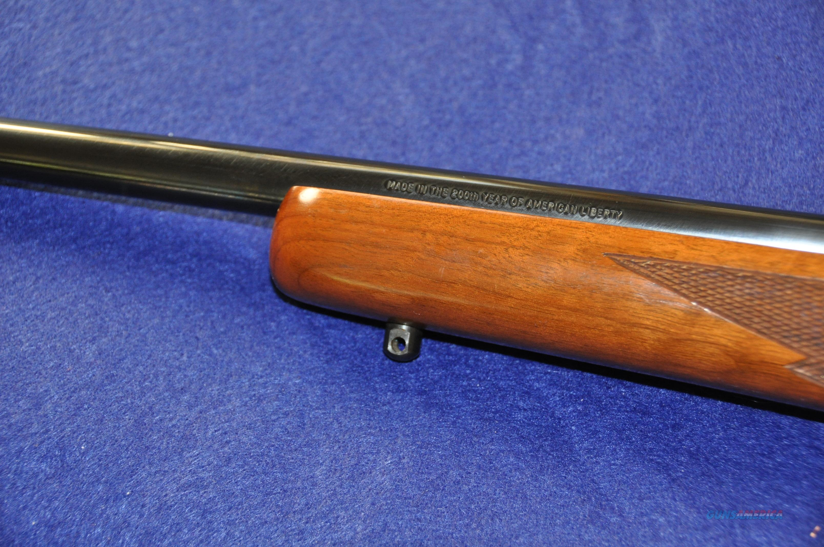 Ruger 77 200th year, tang safety, 220 swift, sporter barrel and Timney trigger  Guns > Rifles > Ruger Rifles > Model 77