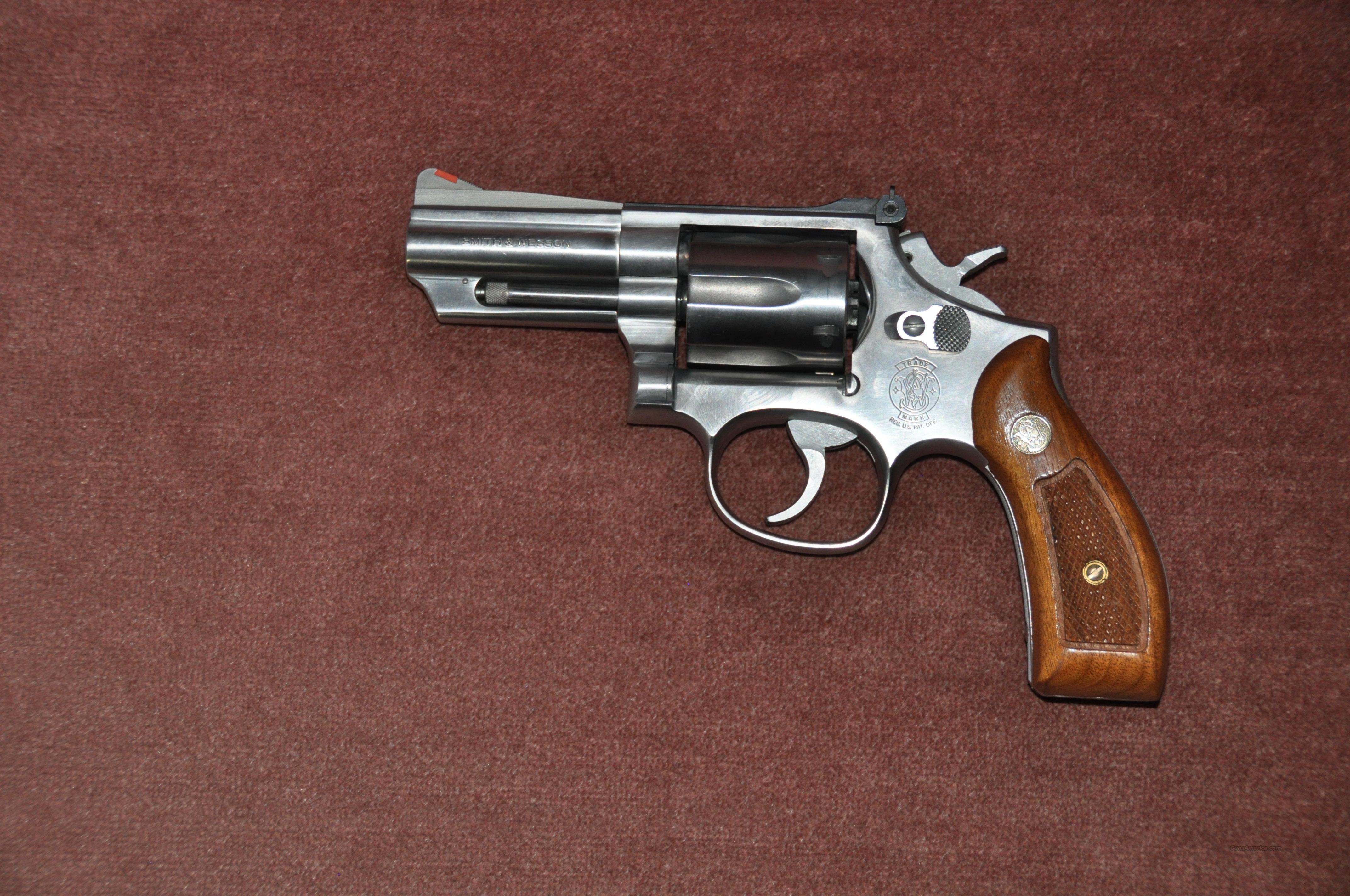 "1980's Model 66-3 with 3"" barrel  357 mag  Guns > Pistols > Smith & Wesson Revolvers > Full Frame Revolver"