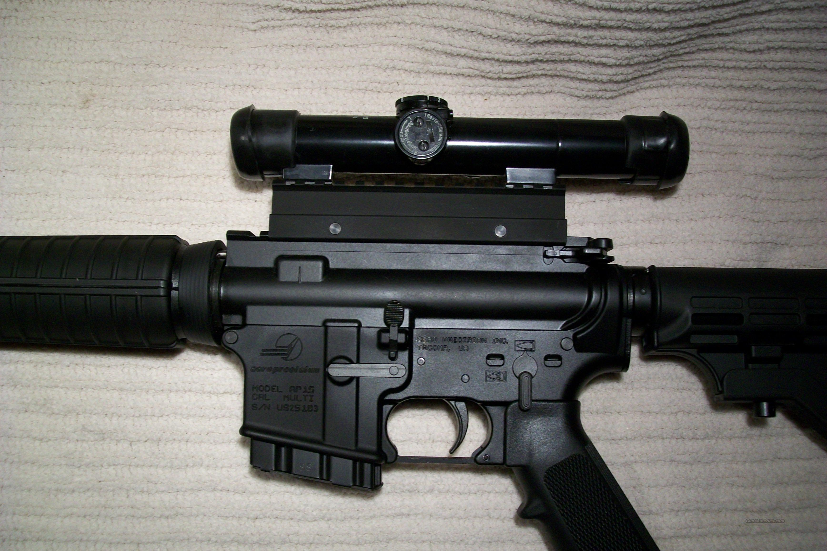 California Compliant AP-15 M4 5.56 Cal.HK ZF1Scope   Guns > Rifles > AR-15 Rifles - Small Manufacturers > Complete Rifle