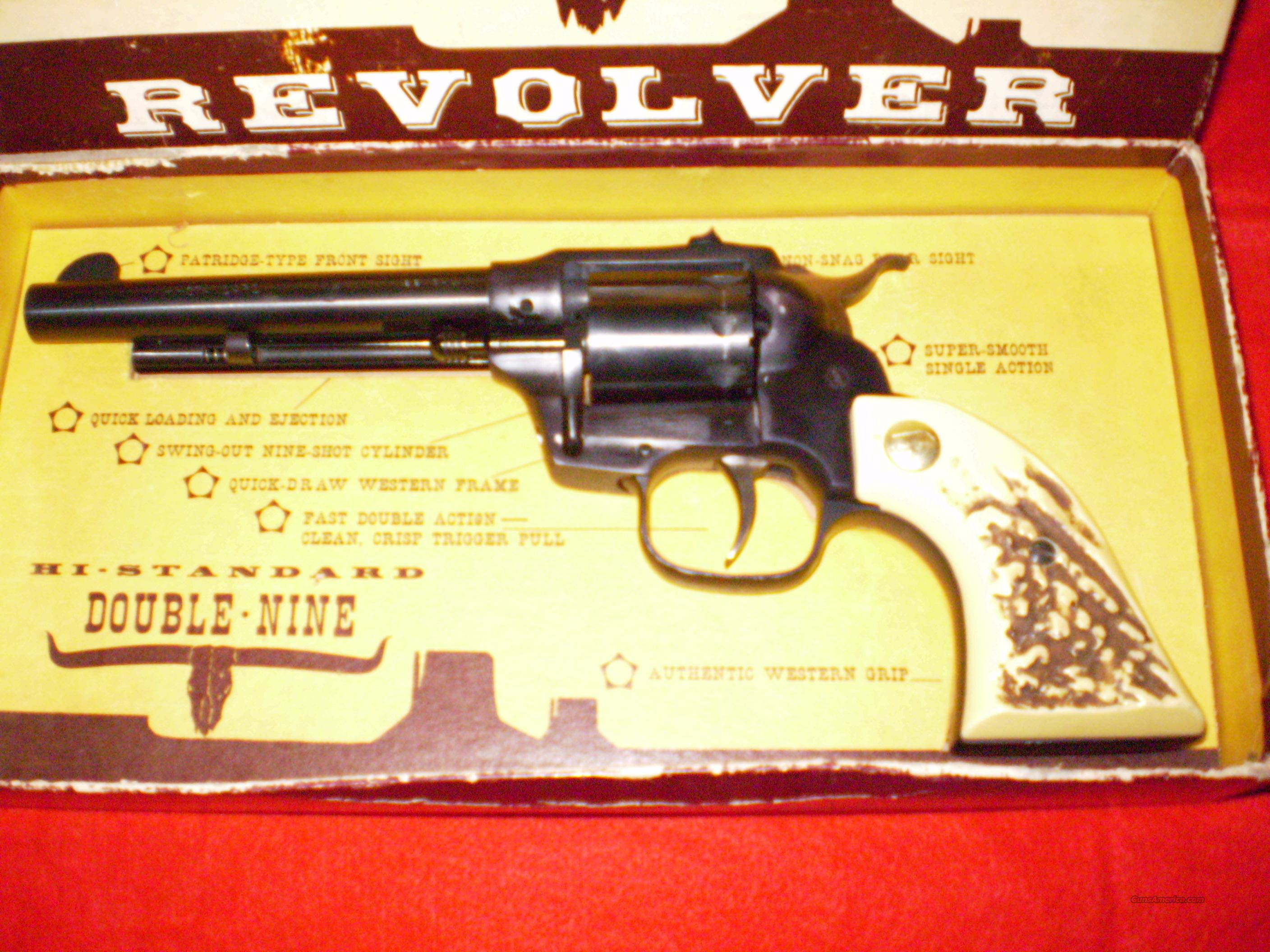 High Standard Double-Nine Model W-104 22LR  Guns > Pistols > High Standard Pistols