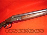 German Geco 16ga. SXS shotgun  Guns > Shotguns > G Misc Shotguns