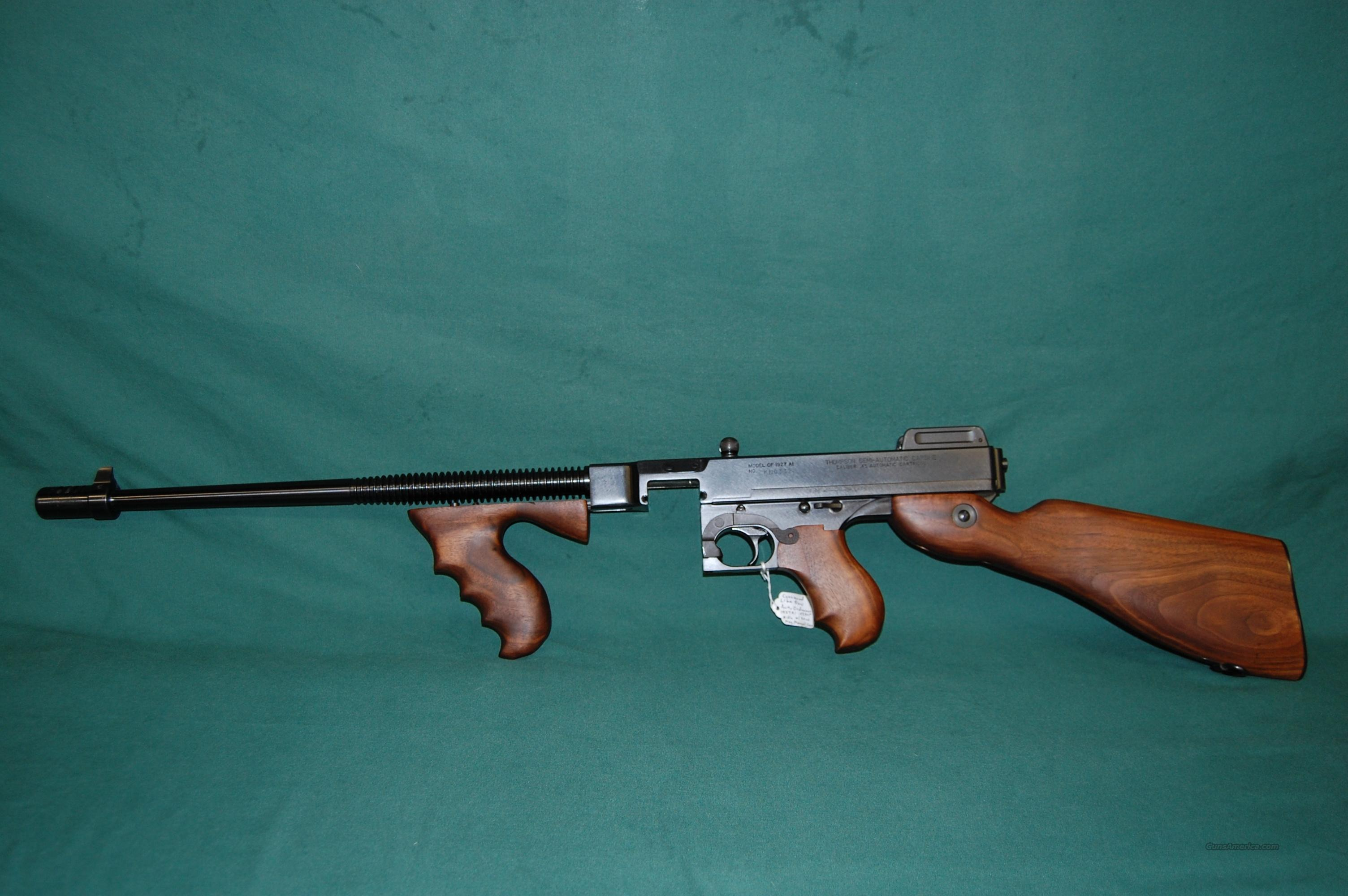 Thompson 1927A1 Deluxe  Guns > Rifles > Thompson Subguns/Semi-Auto