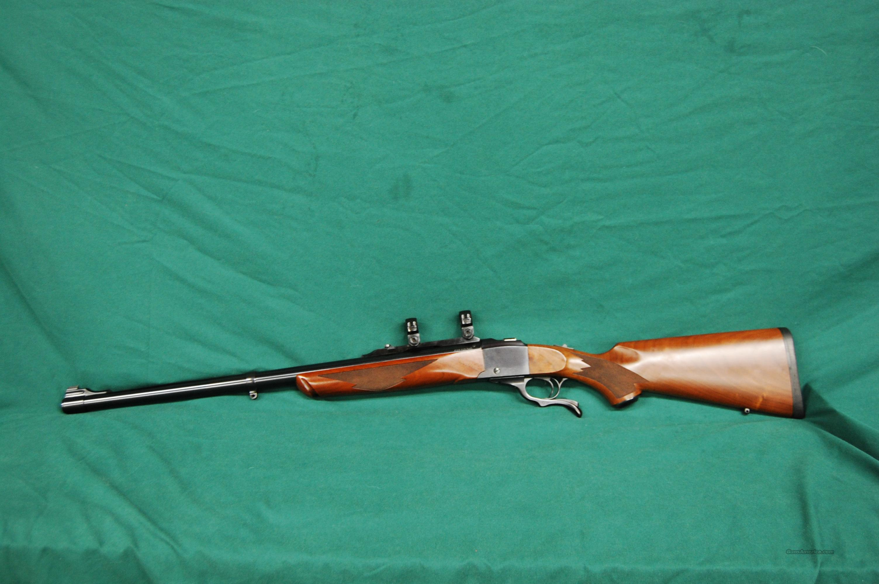 Ruger #1 Tropic  .458 Win. Mag.  Guns > Rifles > Ruger Rifles > #1 Type