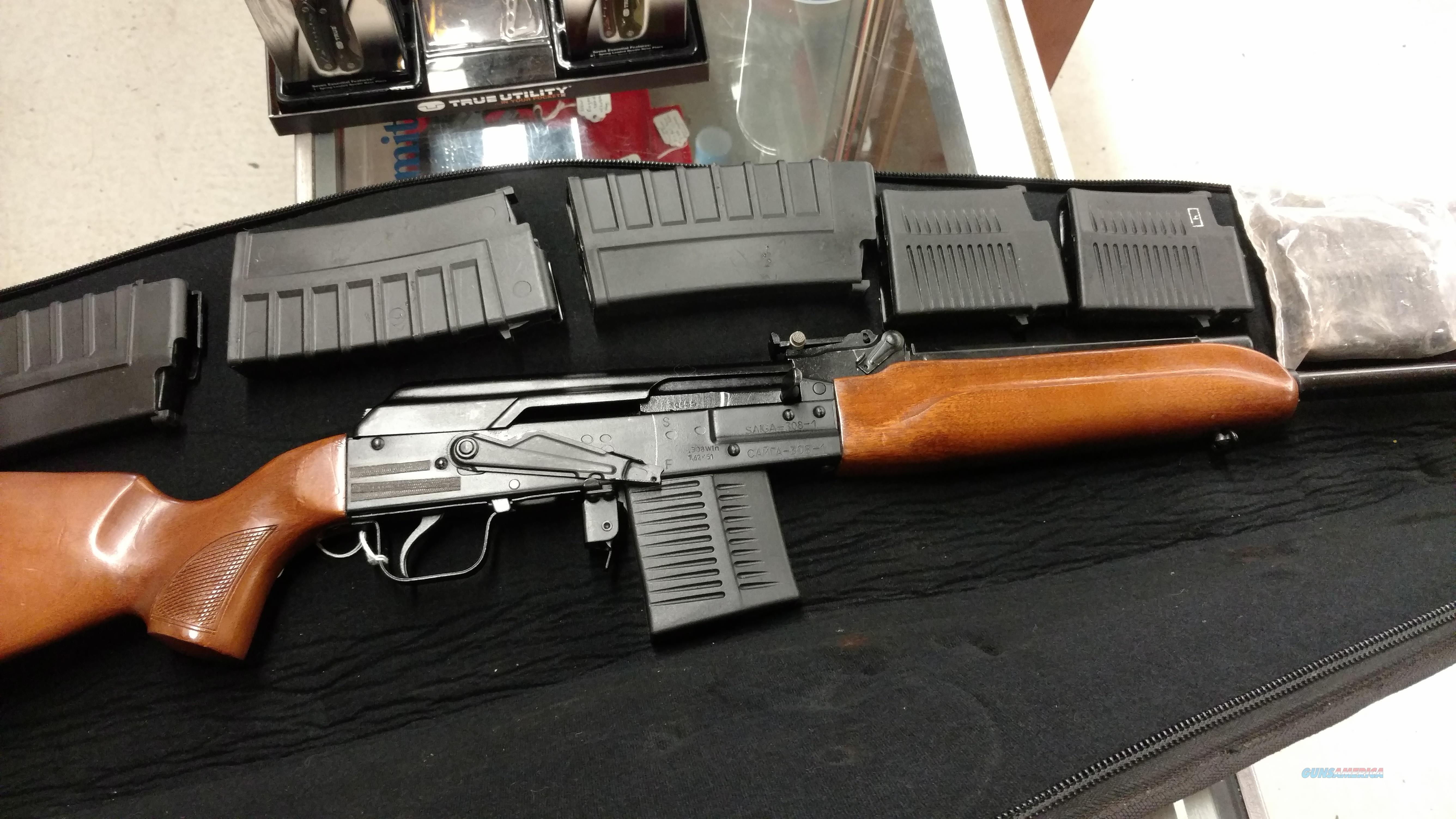Izhmash Saiga 308  Guns > Rifles > Izhmash Rifles