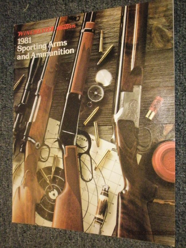 Winchester 1981 arms & ammo catalogs, 100  Non-Guns > Manuals - Print