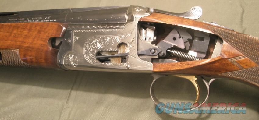 Nikko 5000 grade II 12ga O/U Factory Cutaway shotgun for trade shows  Guns > Shotguns > Nikko Shotguns