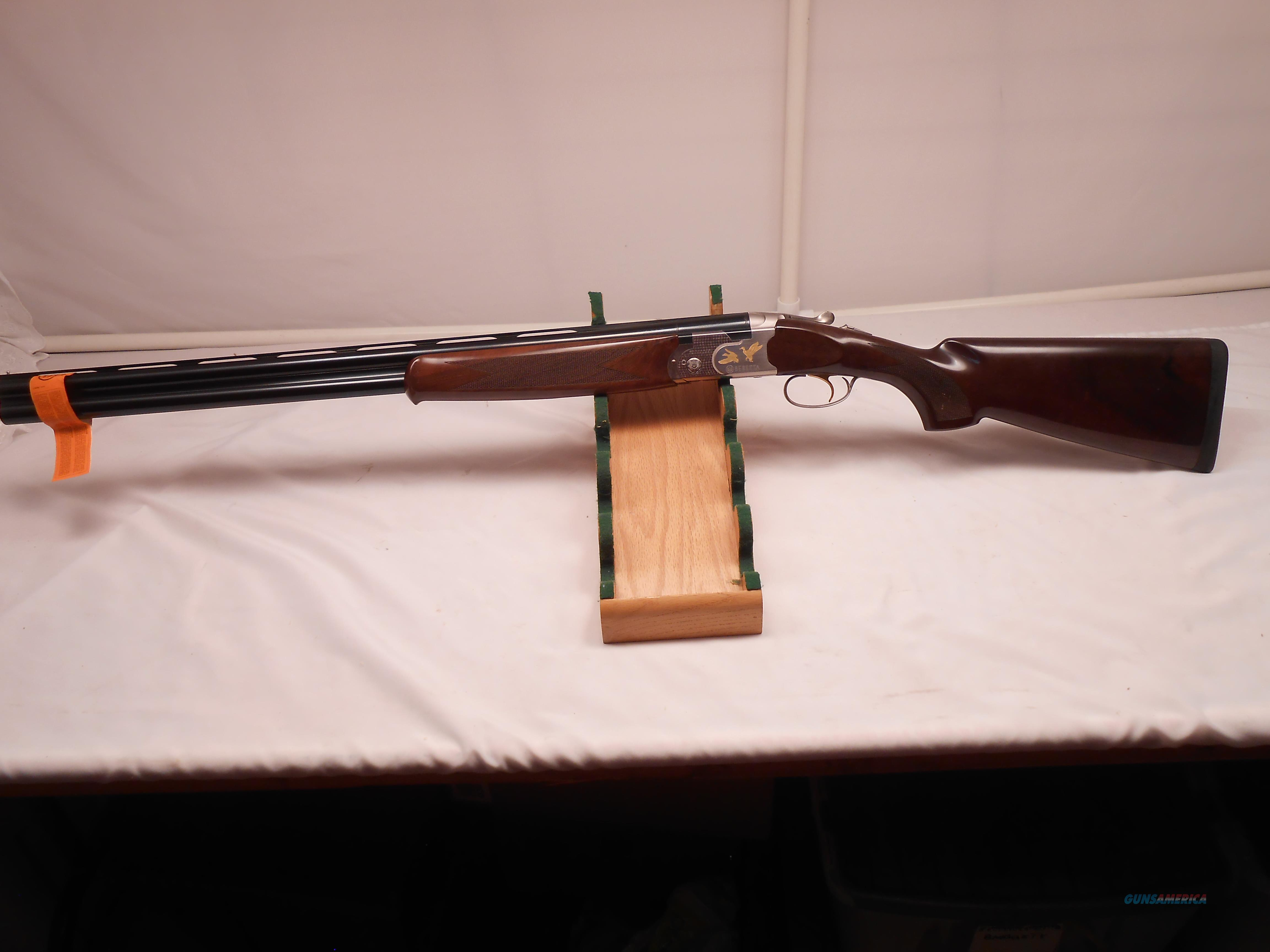 Never Fired Ducks Unlimited Beretta 686 Onyx 12Ga with Factory box and Case  Guns > Shotguns > Beretta Shotguns > O/U > Trap/Skeet