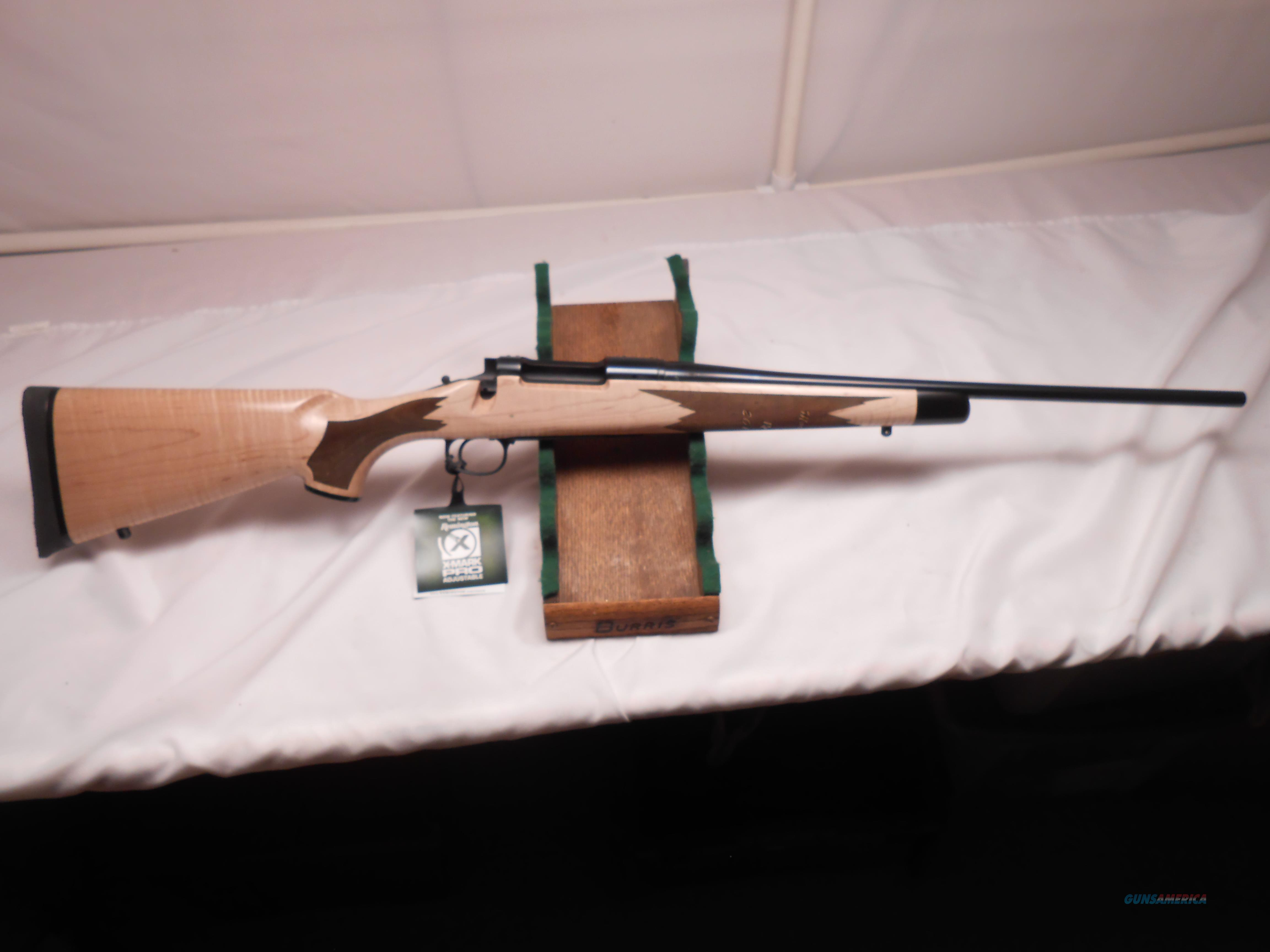 Never Fired, #1 of 222 made, Remington  Model 7 with Grade V Tiger Tale Maple Stock  in 222 Remington  Guns > Rifles > Remington Rifles - Modern > Bolt Action Non-Model 700 > Sporting