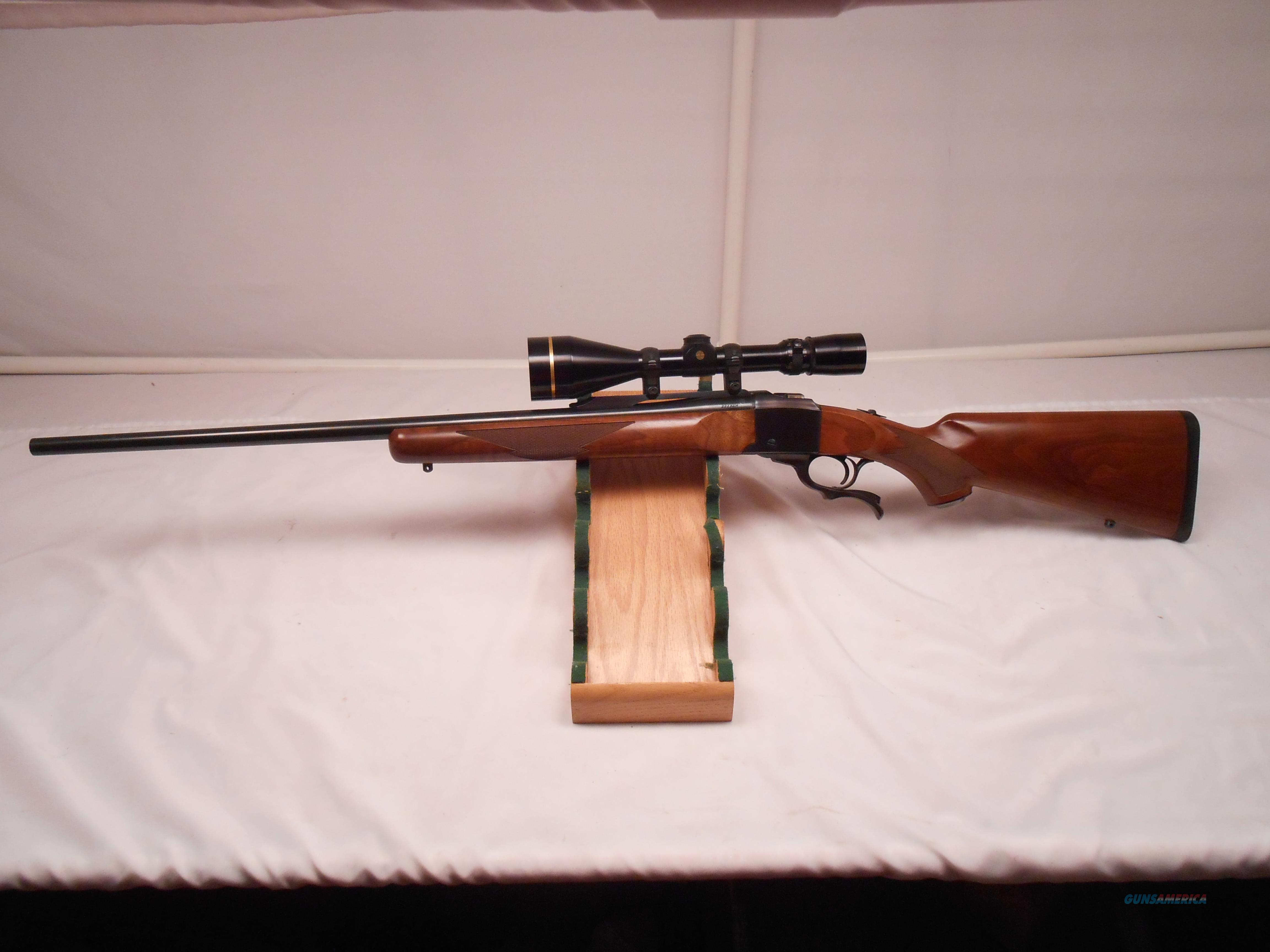 Beautiful Ruger #1 Leupold VX-III 3.5x10x50 Scope  Guns > Rifles > Ruger Rifles > #1 Type