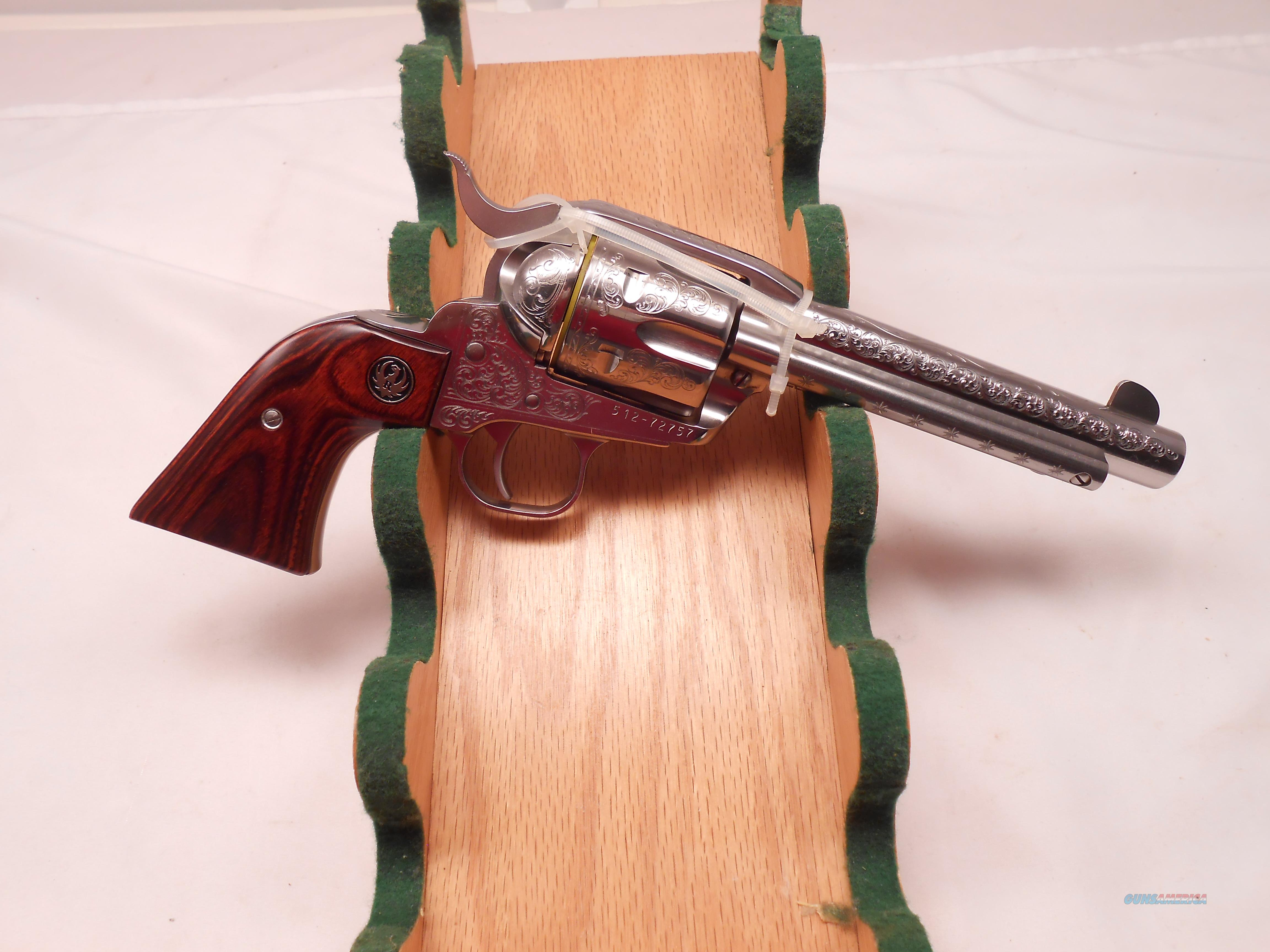Beautifull Engraved Ruger New Vaquero  Guns > Pistols > Ruger Single Action Revolvers > Cowboy Action