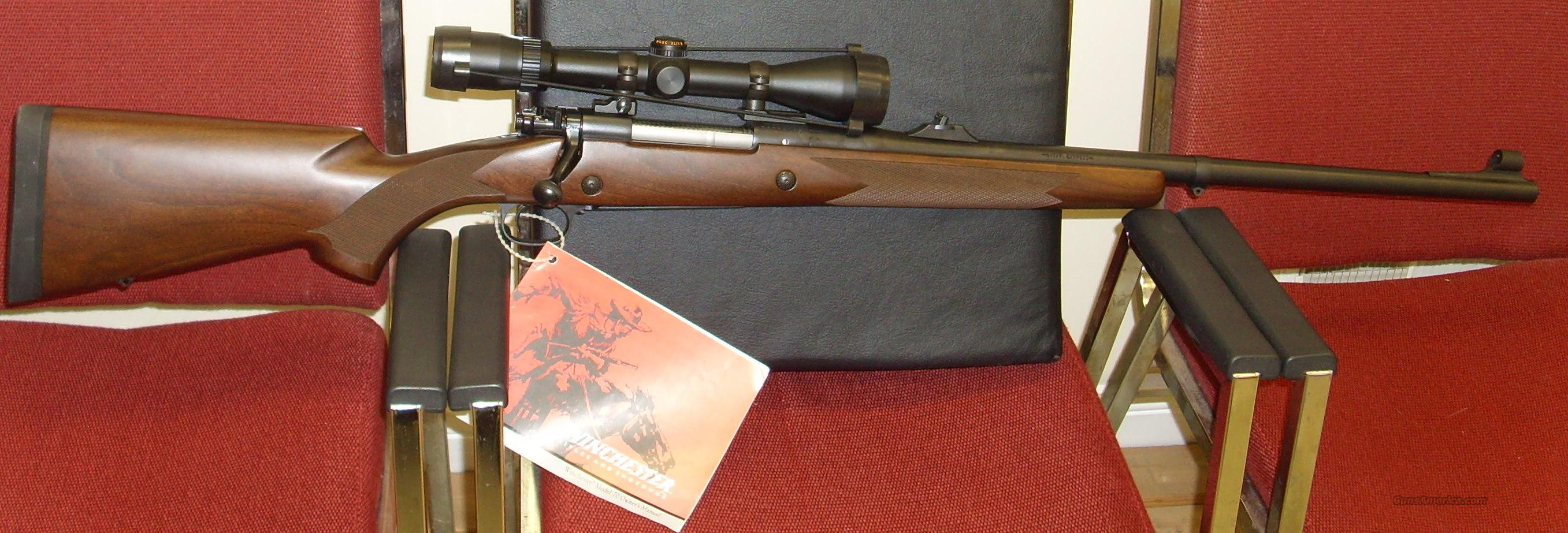 Winchester Model 70 375 H & H MAG./Safari Express  Guns > Rifles > Winchester Rifles - Modern Bolt/Auto/Single > Model 70 > Post-64