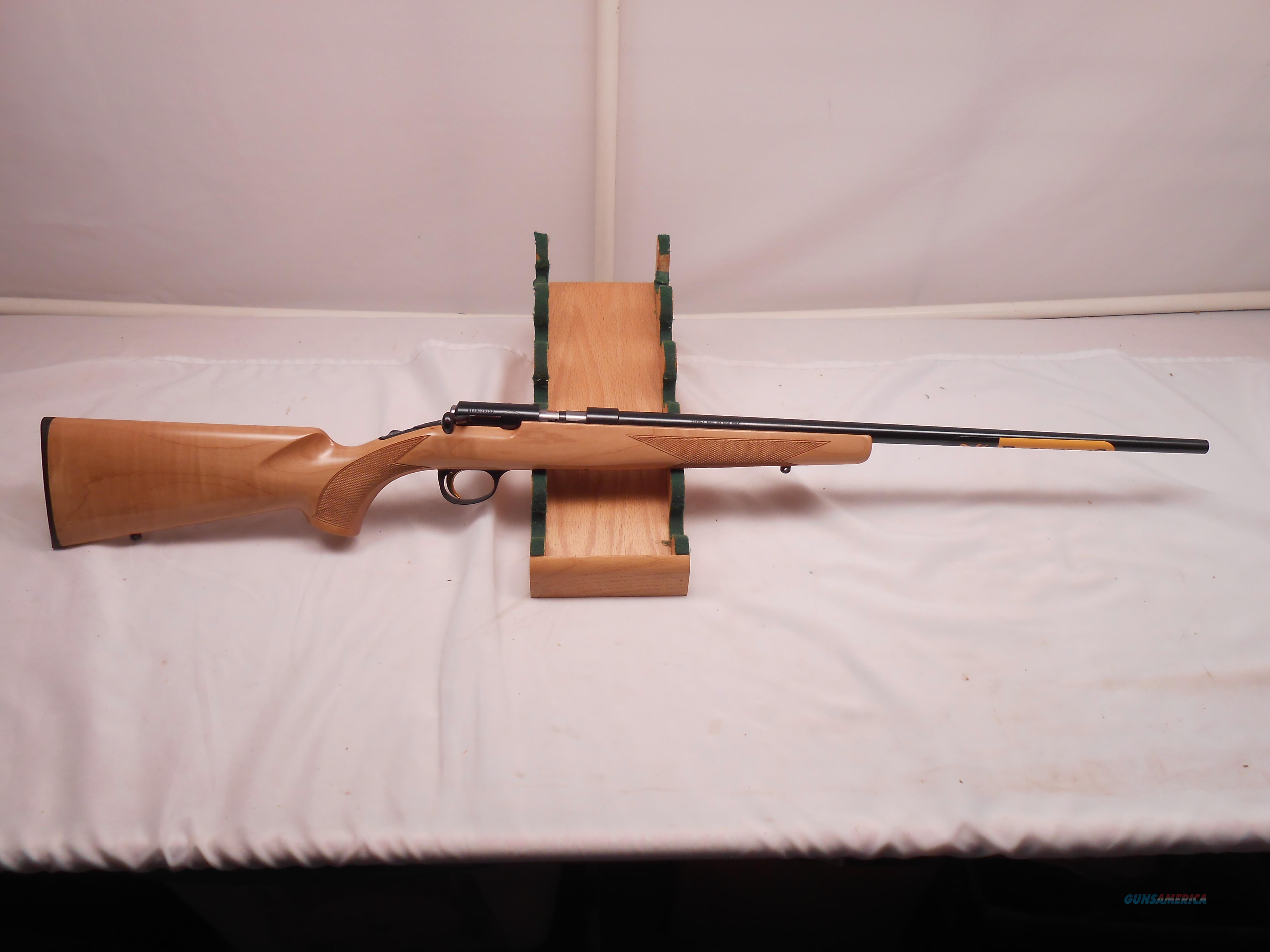 Browning T- Bolt 22 Magnum With Maple stock  Guns > Rifles > Browning Rifles > Bolt Action > Hunting > Blue