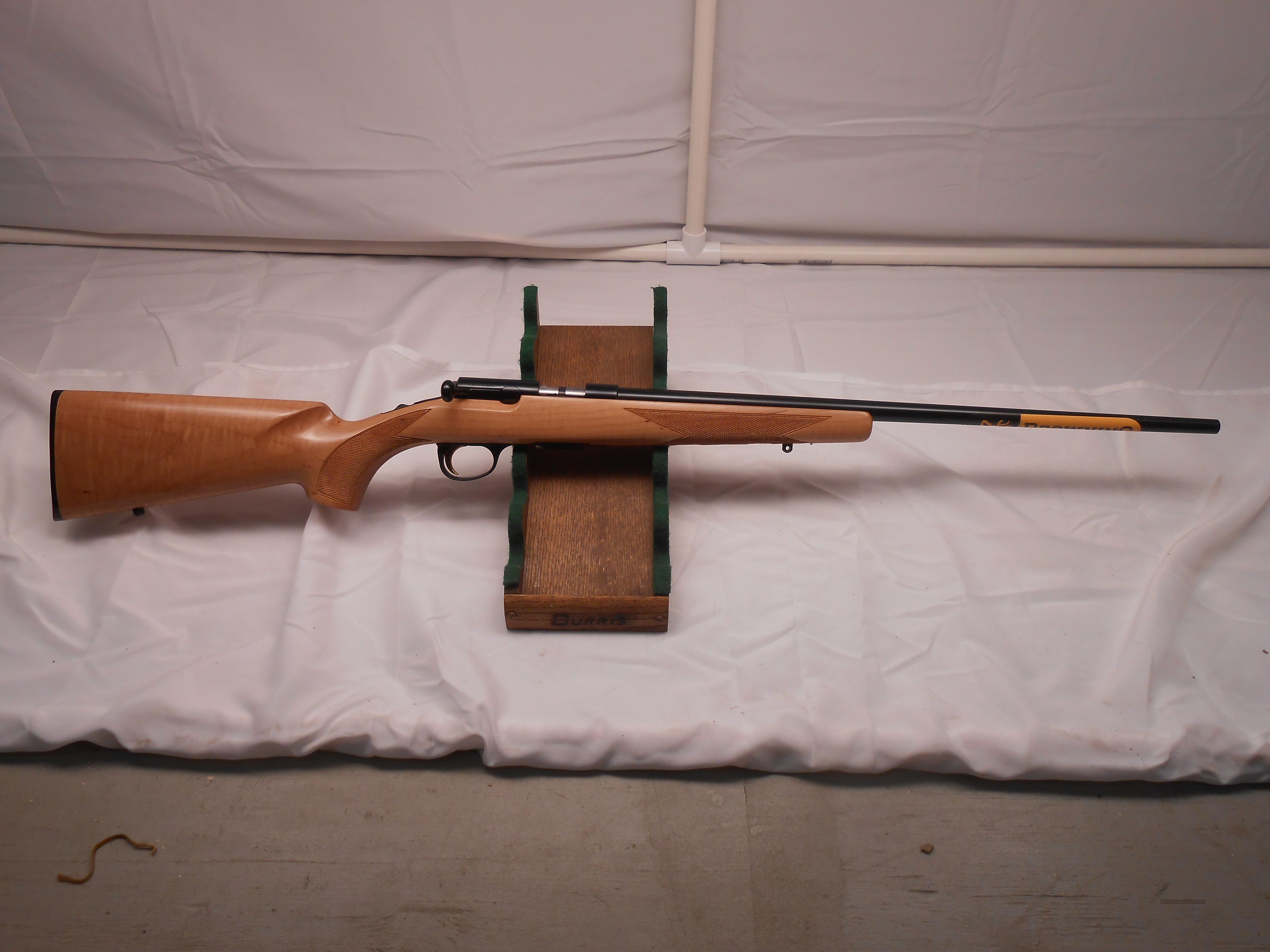 Maple Stock Browning T-Bolt 17HMR  Guns > Rifles > Browning Rifles > Bolt Action > Hunting > Blue