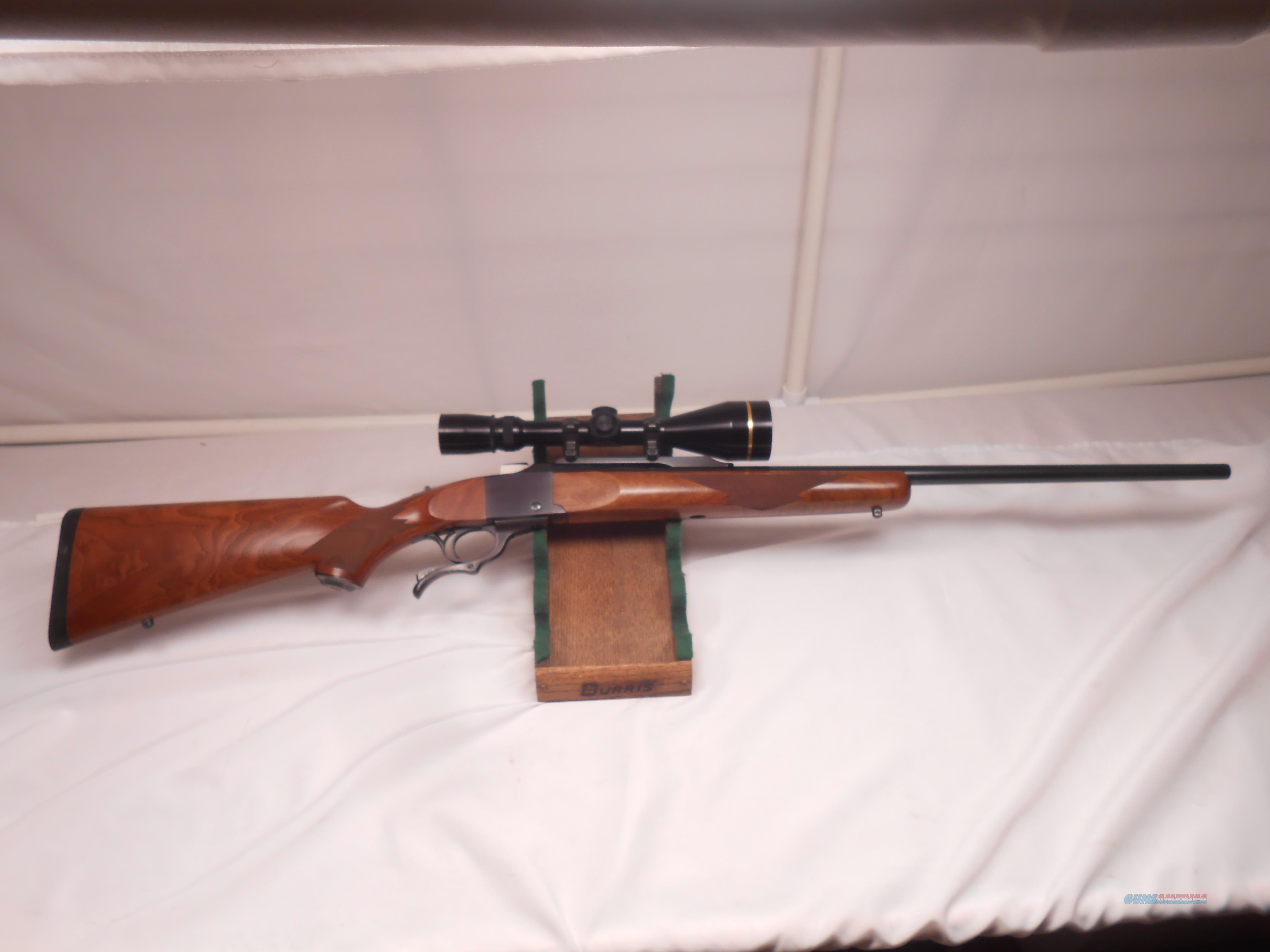 Very Nice Ruger Number 1 with Leupold VX-3 3.5x10   Guns > Rifles > Ruger Rifles > #1 Type