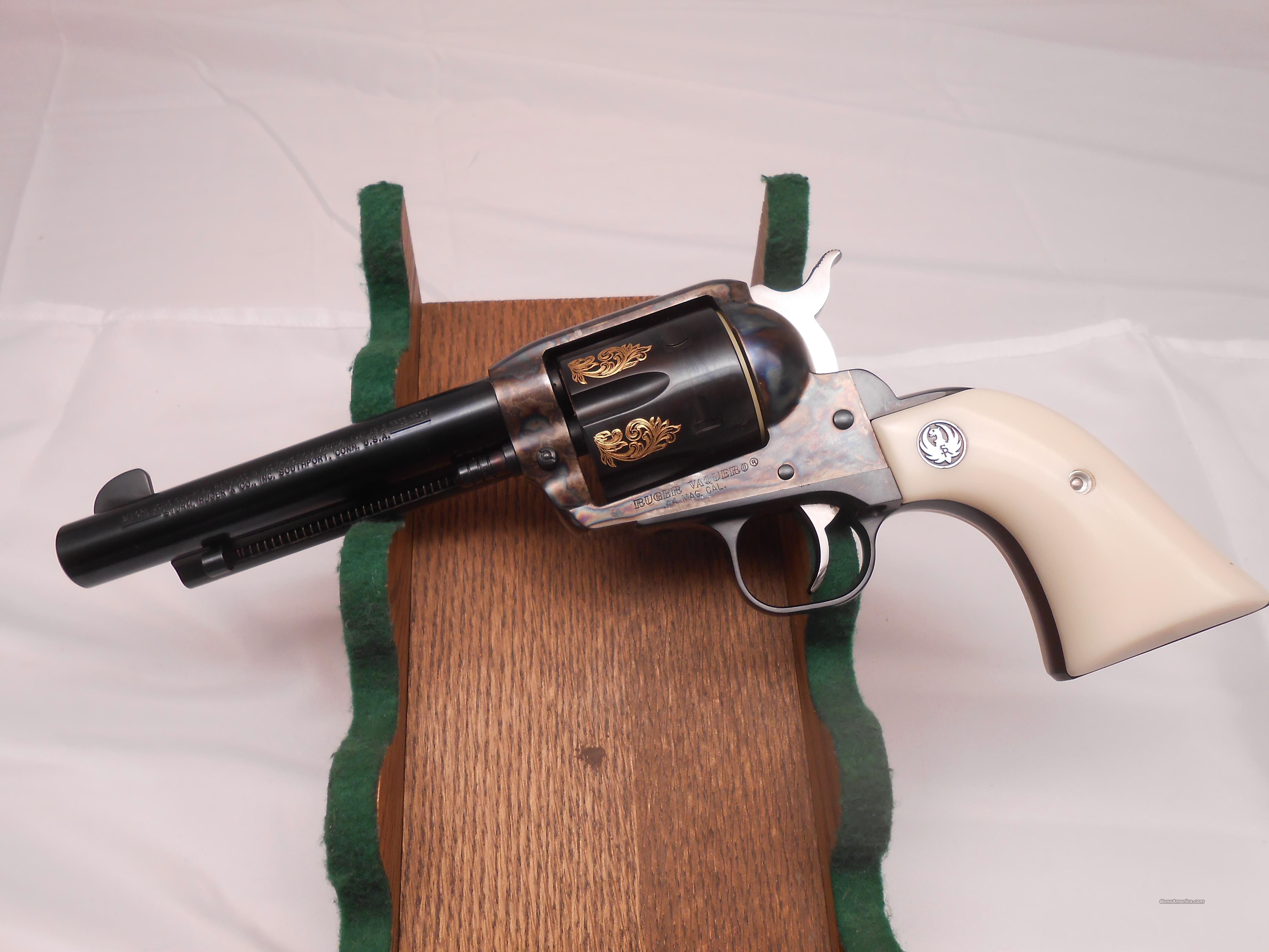 Engraved Ruger  Vaquero 44  Guns > Pistols > Ruger Single Action Revolvers > Cowboy Action
