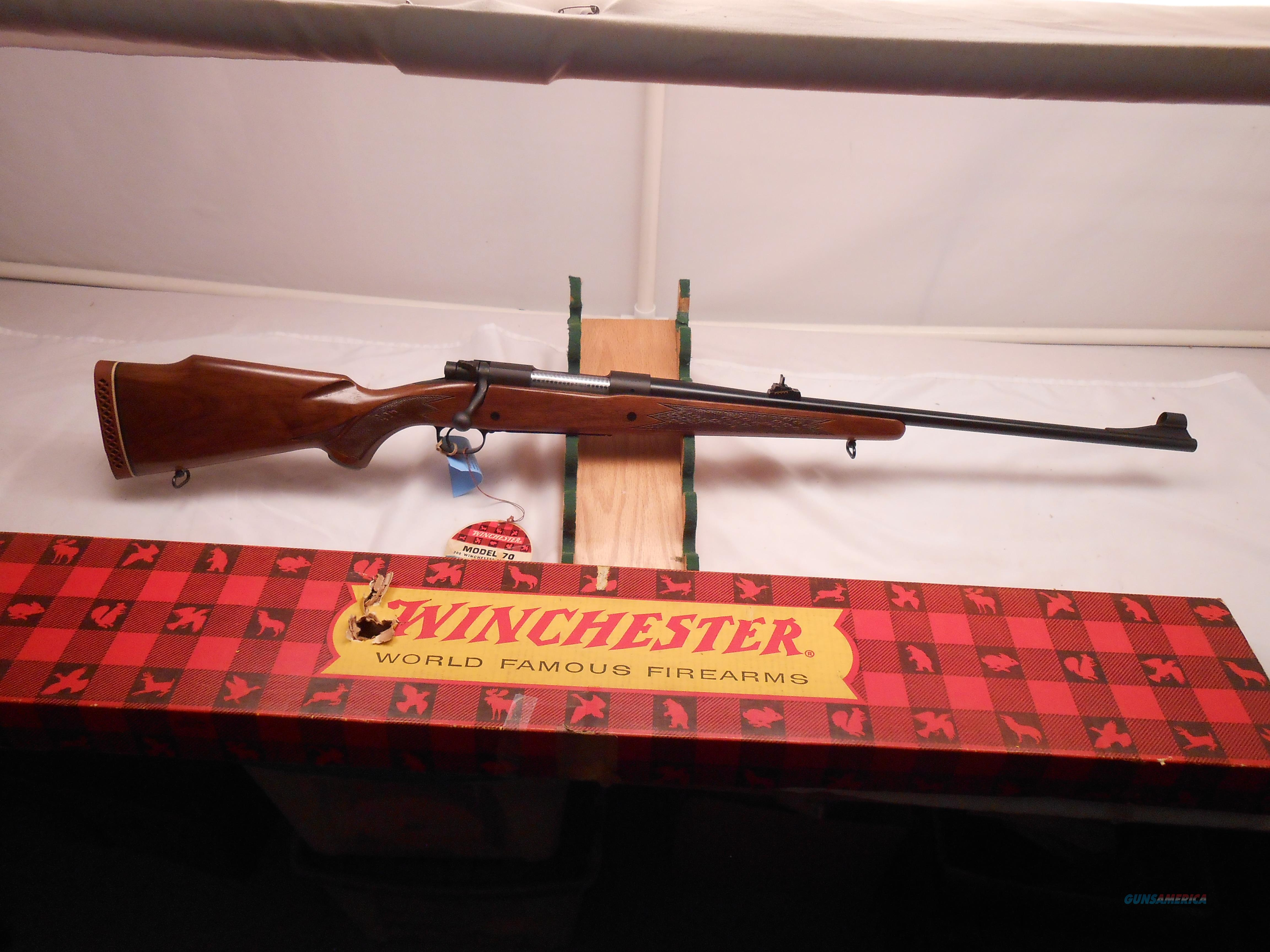Beautiful Winchester model 70 300 Win Mag. with original box  Guns > Rifles > Winchester Rifles - Modern Bolt/Auto/Single > Model 70 > Pre-64
