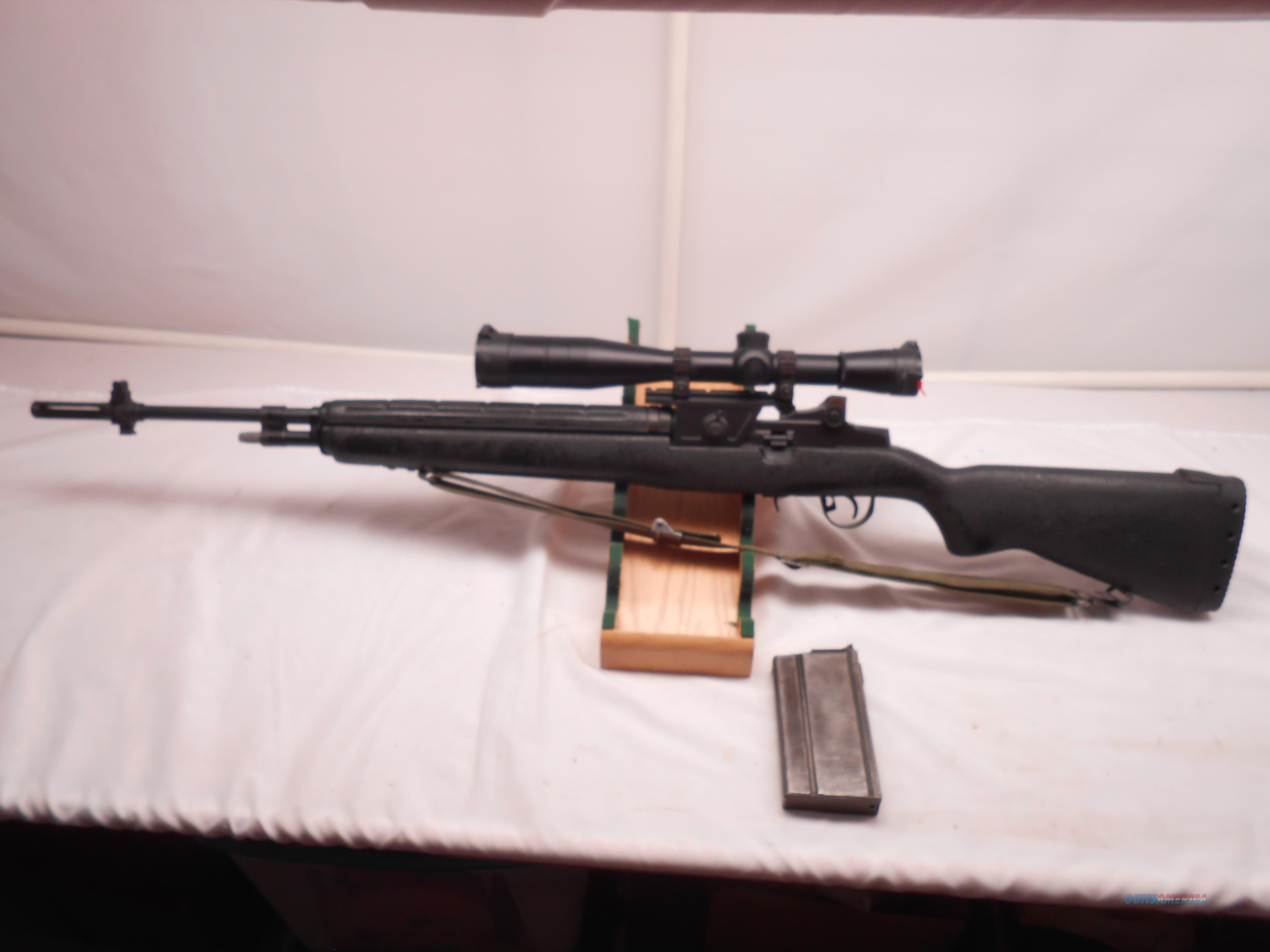 Springfield M1A With Leupold MARK4  X10 scope.  Guns > Rifles > Springfield Armory Rifles > M1A/M14