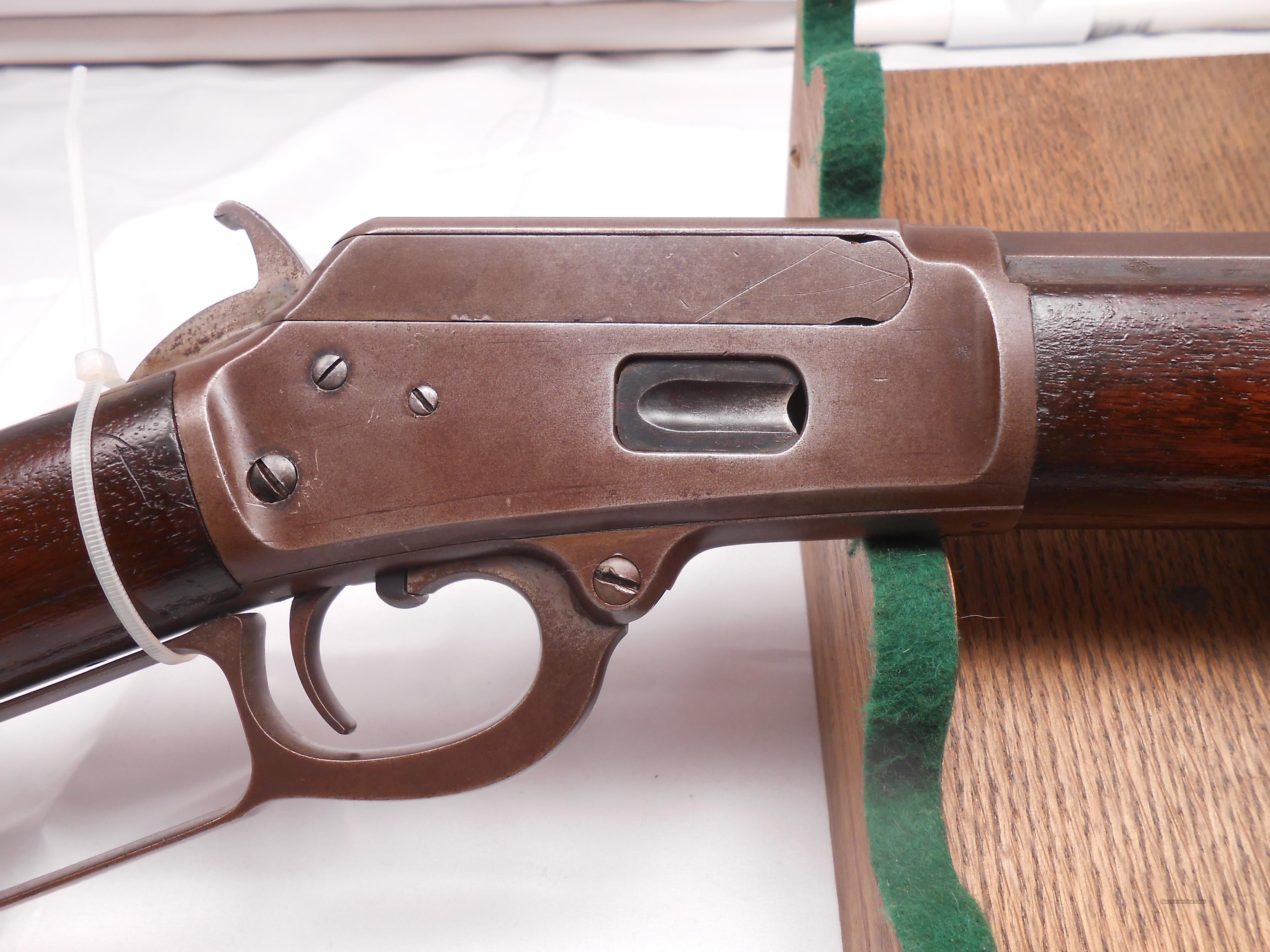 Marlin 1889 44-40 WCF  Guns > Rifles > Marlin Rifles > Pre-1899
