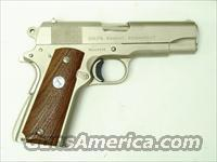 Colt 9mm 1911 Satin Nickel Combat Commander with Box  Guns > Pistols > Colt Automatic Pistols (1911 & Var)