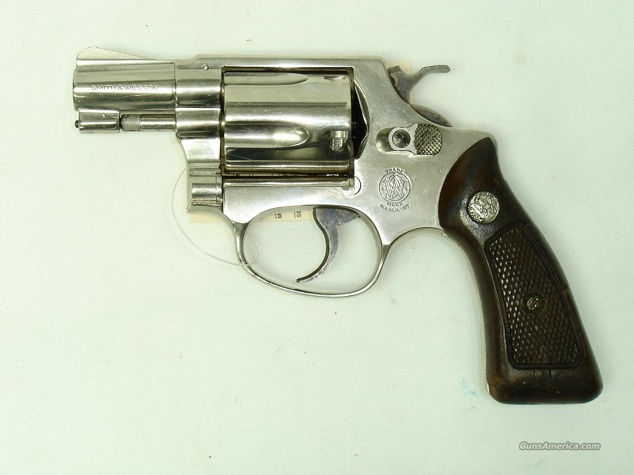 Smith & Wesson Model 36 NO DASH Nickel 38 Spl.   Guns > Pistols > Smith & Wesson Revolvers > Pocket Pistols