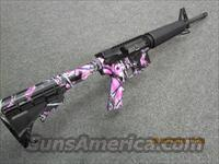 SOMETHING FOR THE LADIES! SUPER LIGHT CUSTOM AR-15 in PINK Tiger CAMO!! ALL NEW! 5.56mm, 30 round mag!*REDUCED* O.B.O.  Guns > Rifles > AR-15 Rifles - Small Manufacturers > Complete Rifle