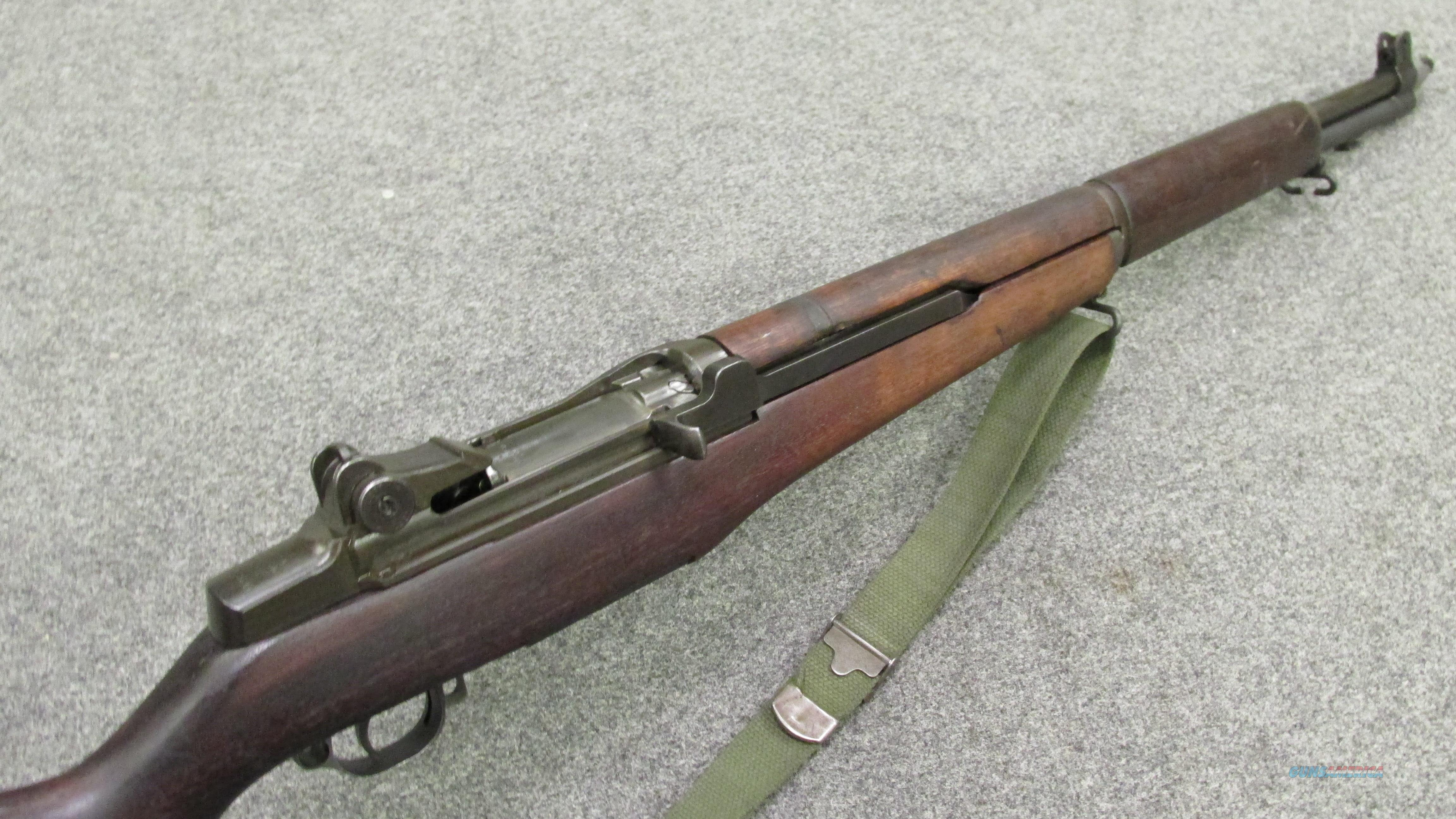 ~!* AWESOME *!~ WWII SPRINGFIELD M-1 GARAND! Dec 1942 V.G.& O.B.O.! REDUCED!!  Guns > Rifles > Military Misc. Rifles US > M1 Garand