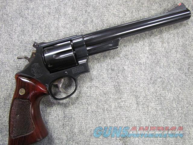 "~^! STUNNING !^~ SMITH & WESSON Model 29-3! 8 & 3/8ths inch barrel! Beautiful Goncalo Alves stocks! Red Ramp front sight! Adj rear sight! ""DIRTY HARRY Model""!! Exc & O.B.O.!!  Guns > Pistols > Smith & Wesson Revolvers > Full Frame Revolver"